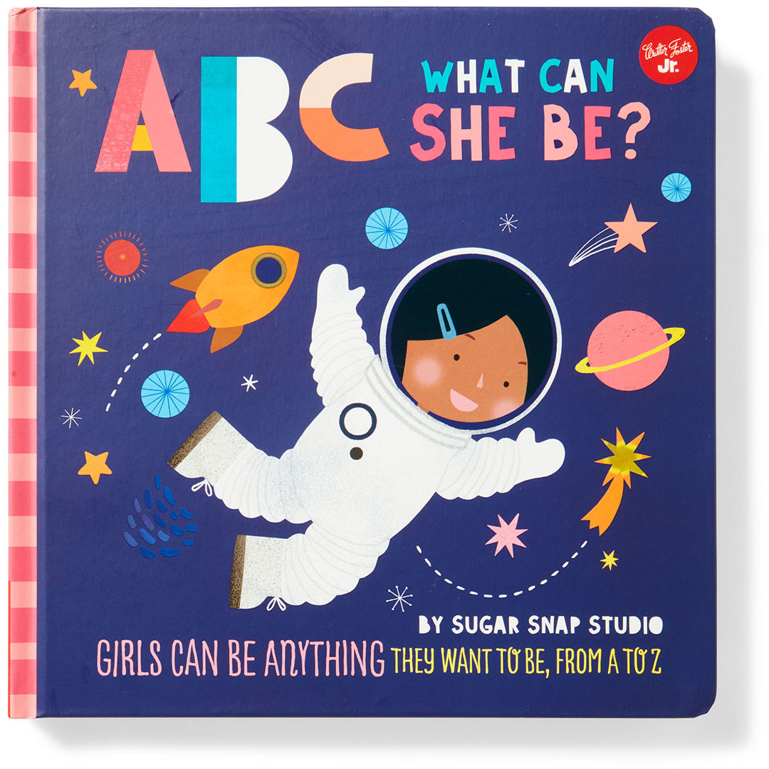abc what can she be kids book