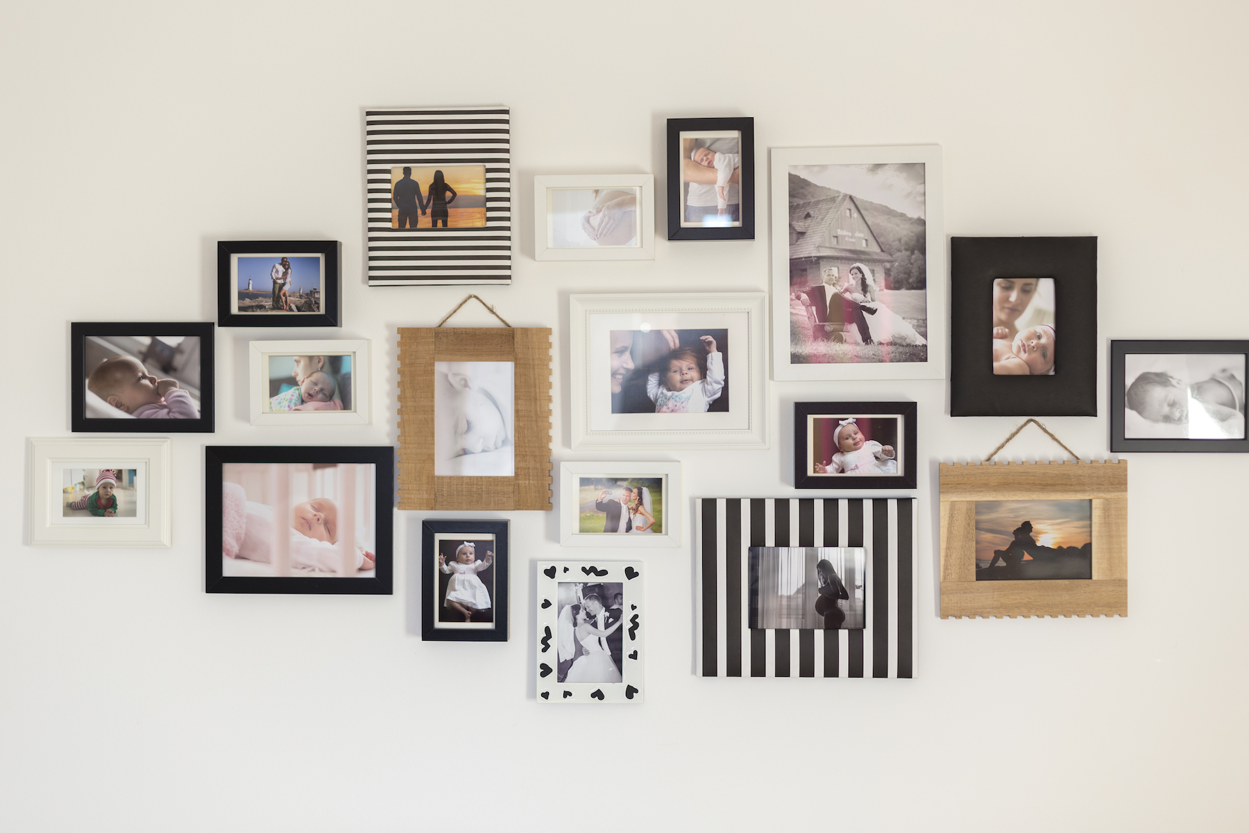 gallery frame wall
