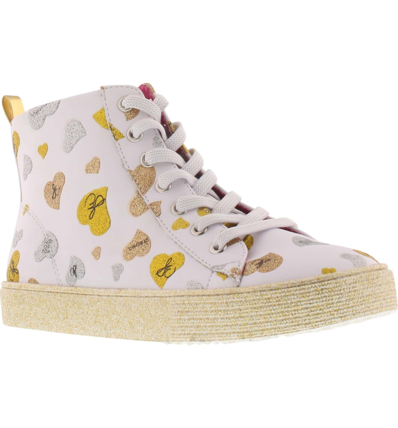Sam Edelman Bella Whimsical Glitter High Top Sneaker