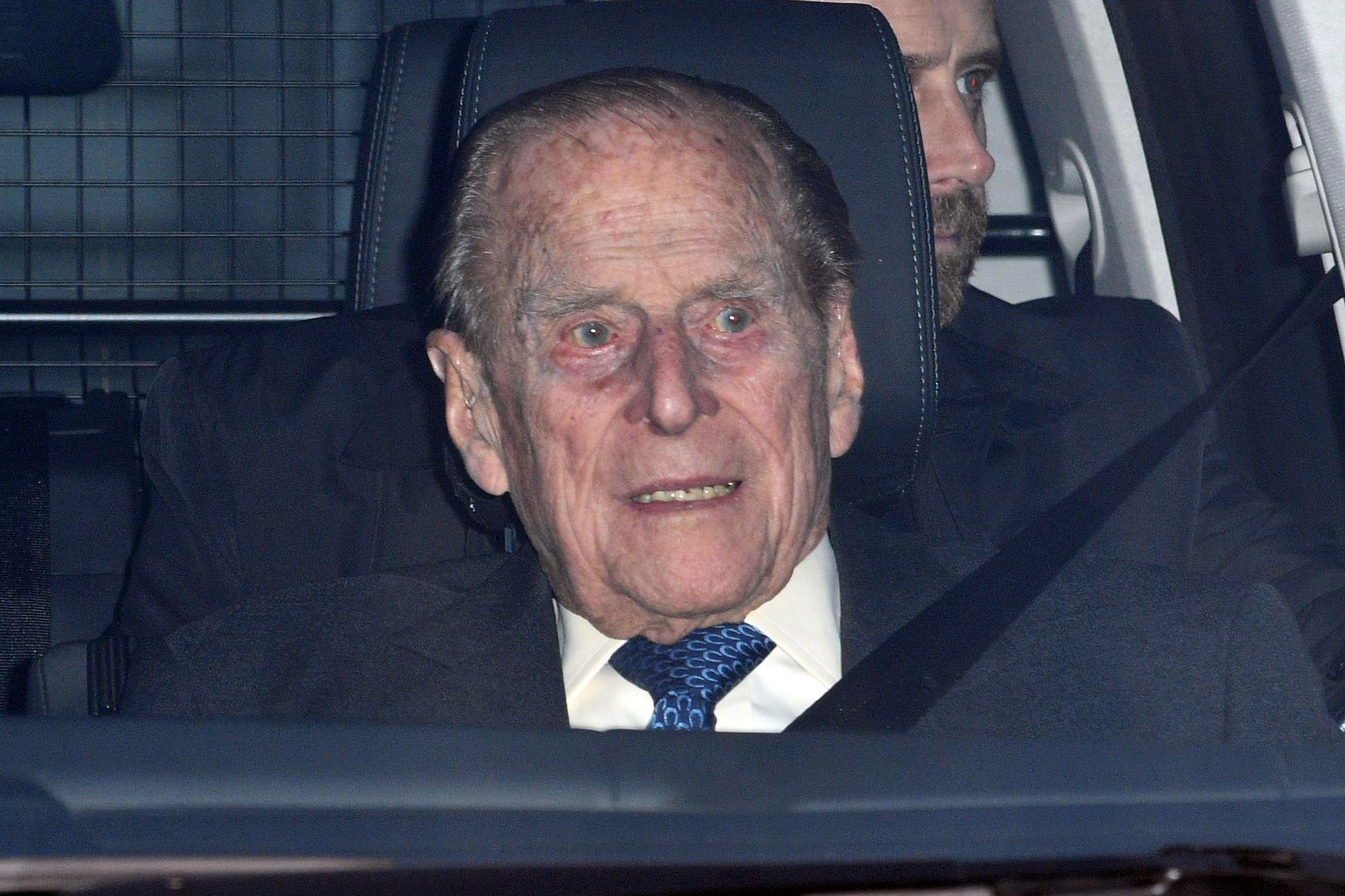 2019 Prince Philip In Car