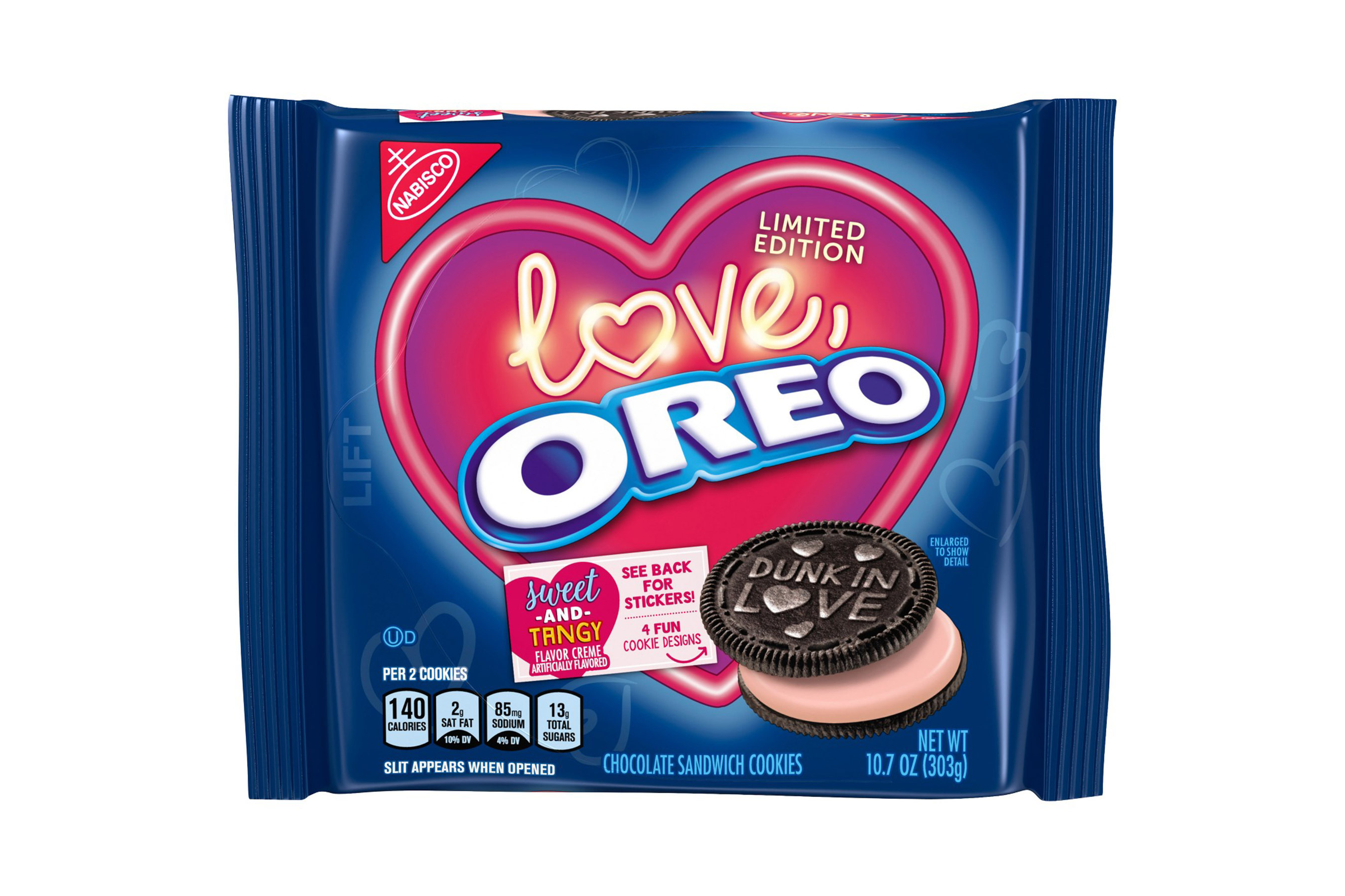 Nabisco Limited Edition Valentine's Day Oreo