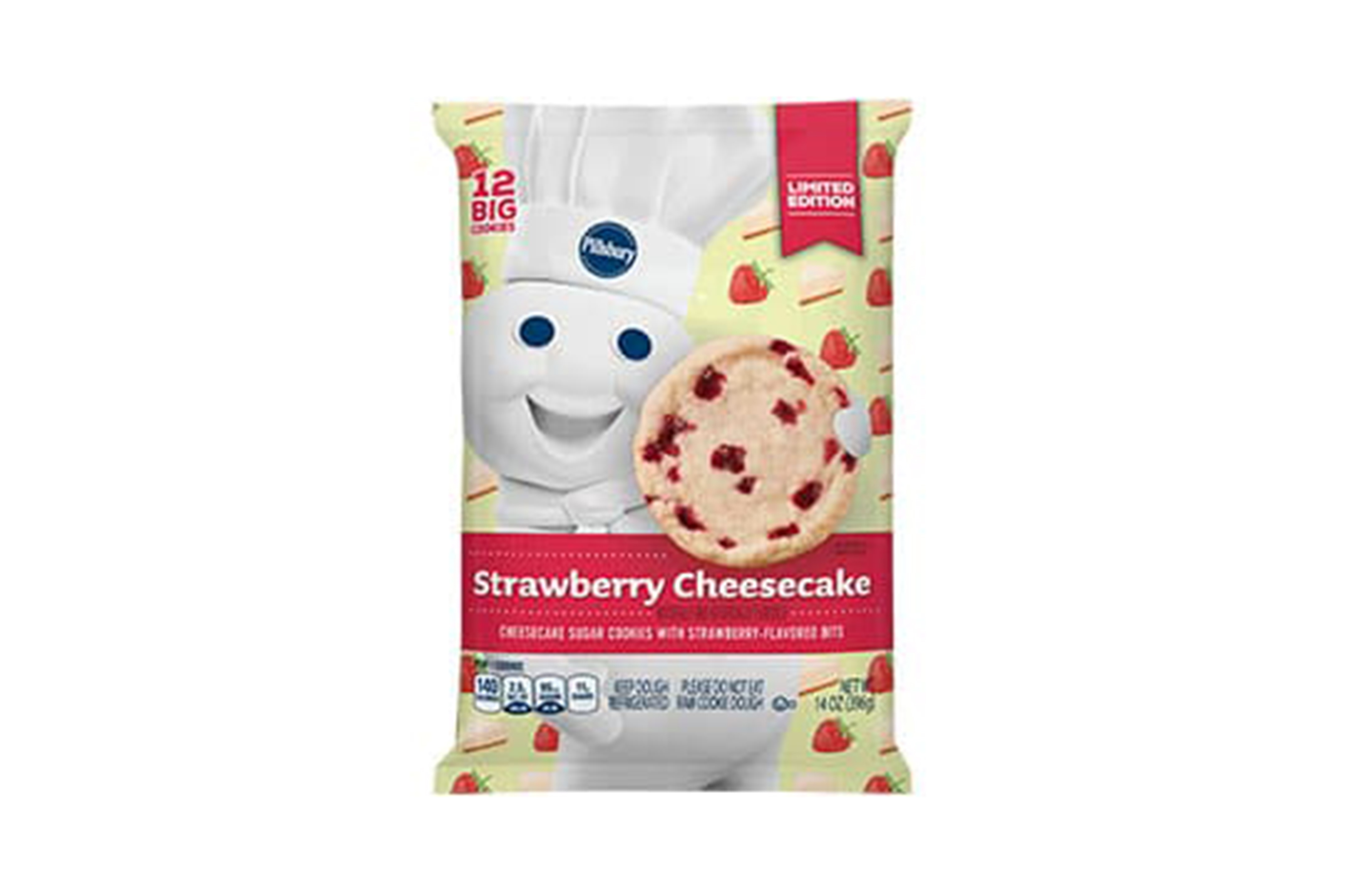 Pillsbury Strawberry Cheesecake Cookies