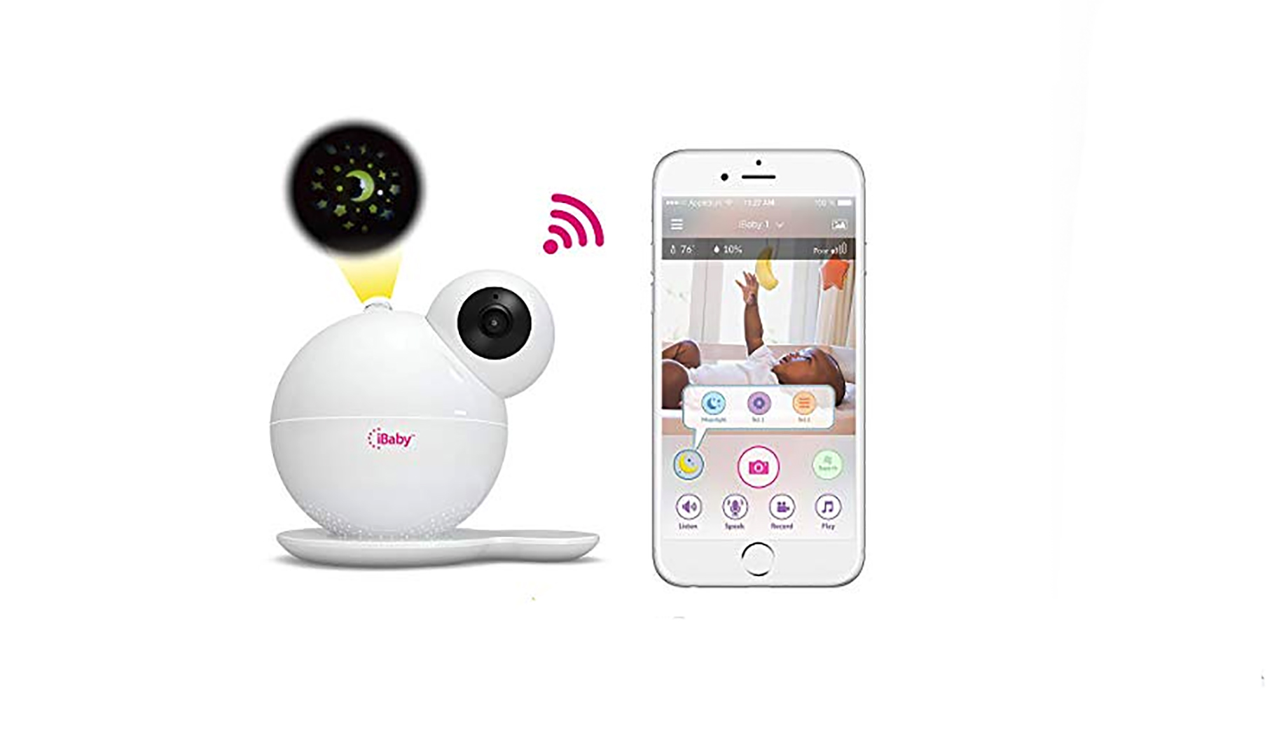 iBaby WiFi M7 Video Baby Monitor