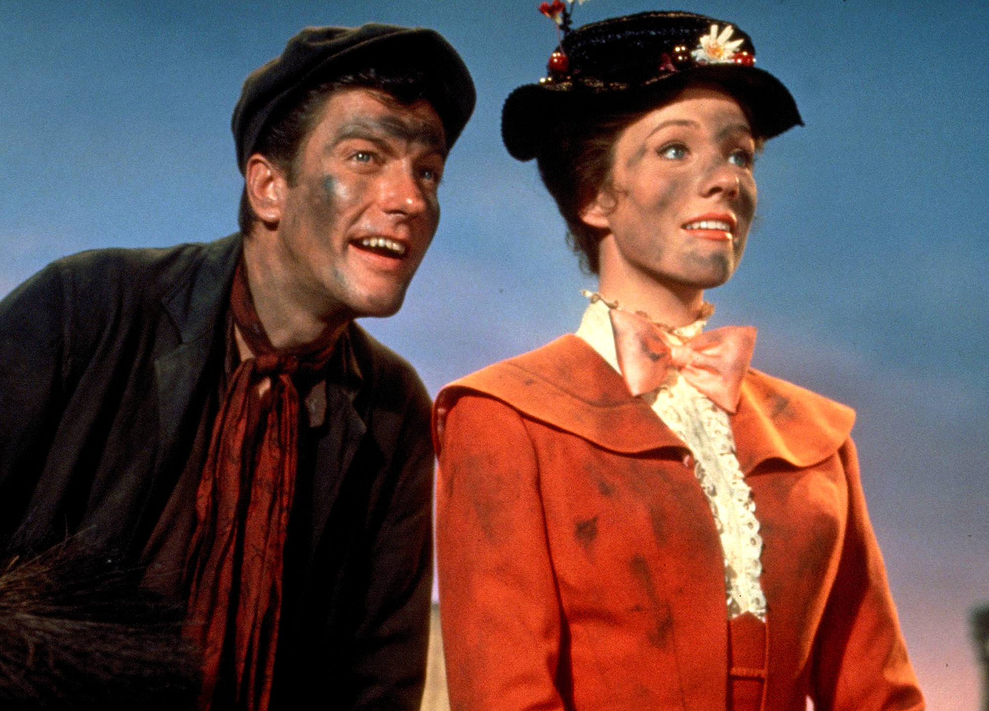 Mary Poppins Scene Dirt on Faces Clothes
