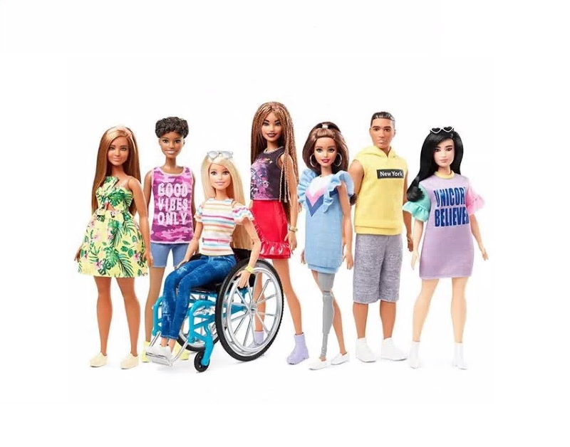 mattel barbie fashionistas wheelchair and prosthetic leg