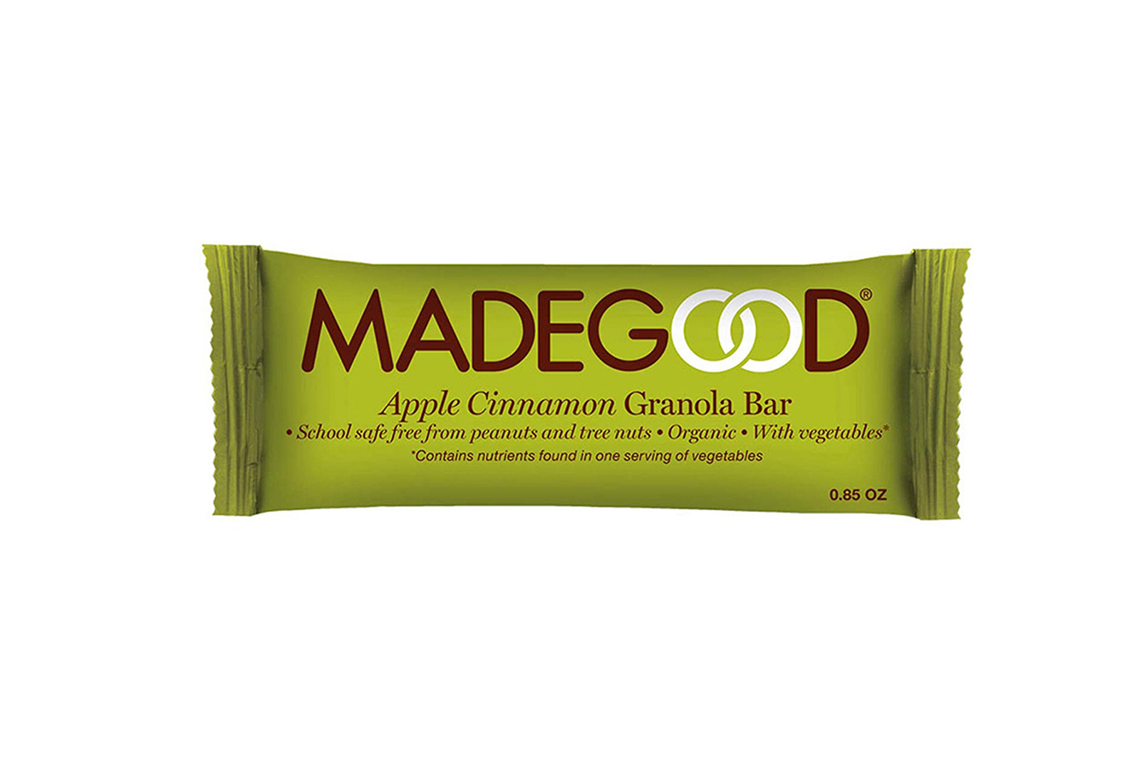 MadeGood Apple Cinnamon Granola Bar