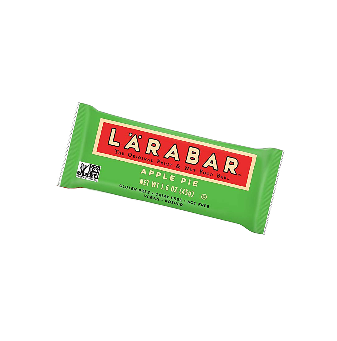 Larabar Apple Pie Green Packaging