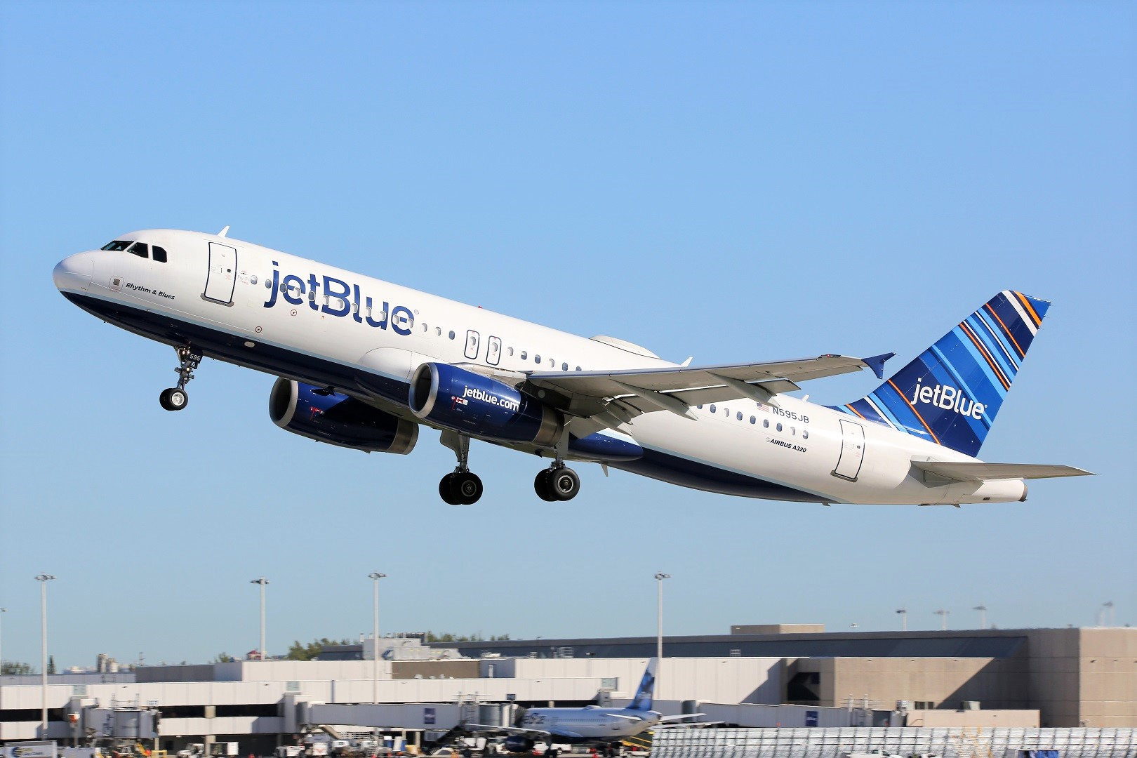 JetBlue Airplane Take Off