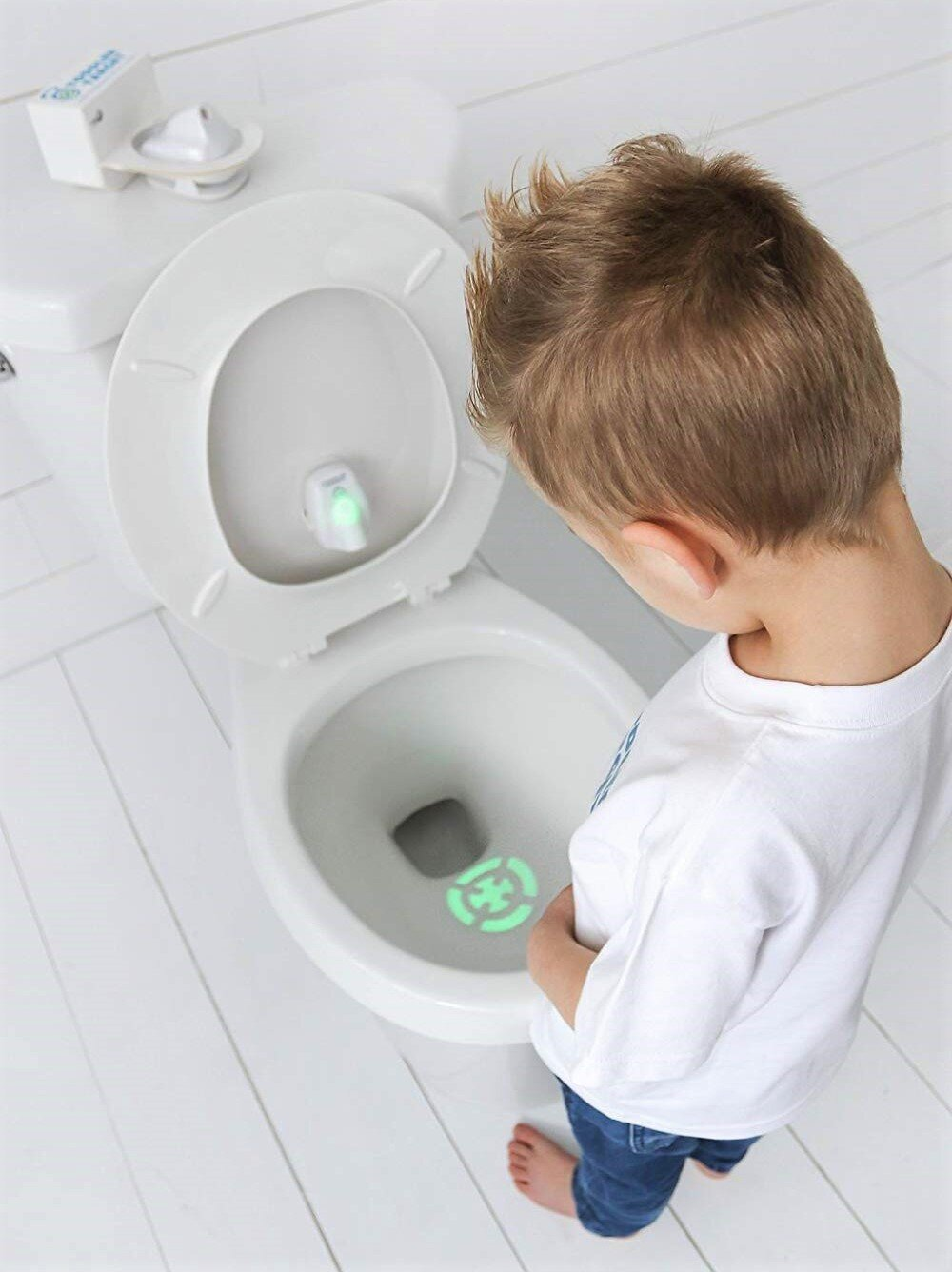 Terrific The Toddler Target Toilet Light Aims To Make Potty Training Theyellowbook Wood Chair Design Ideas Theyellowbookinfo