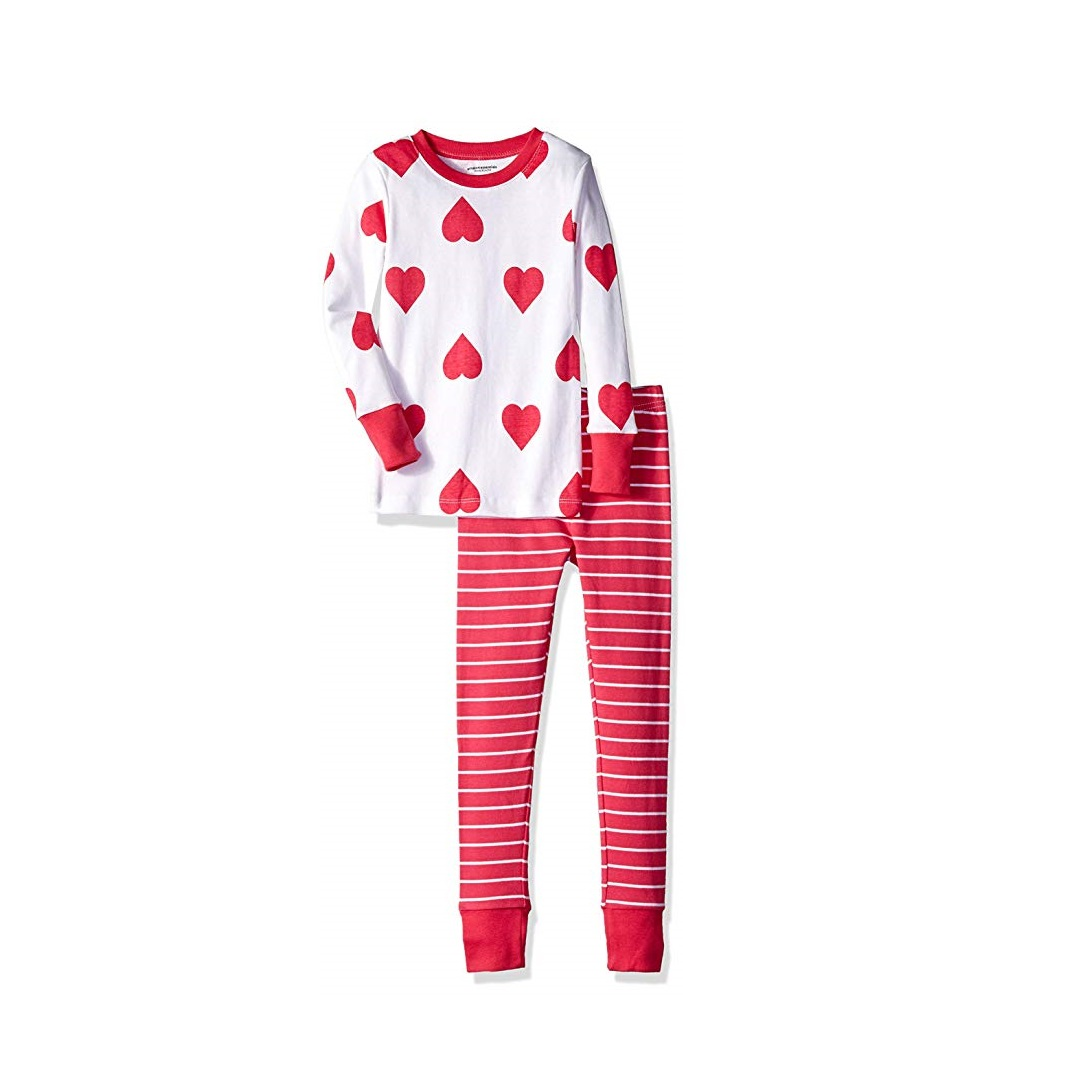 Amazon Essentials Kids' 2-Piece Pajama Set
