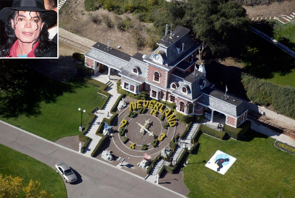 Michael Jackson Neverland Ranch Aerial View