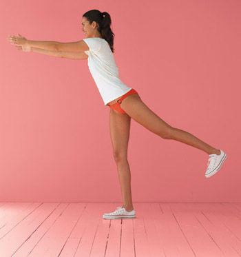 The Move: Squat Arabesque