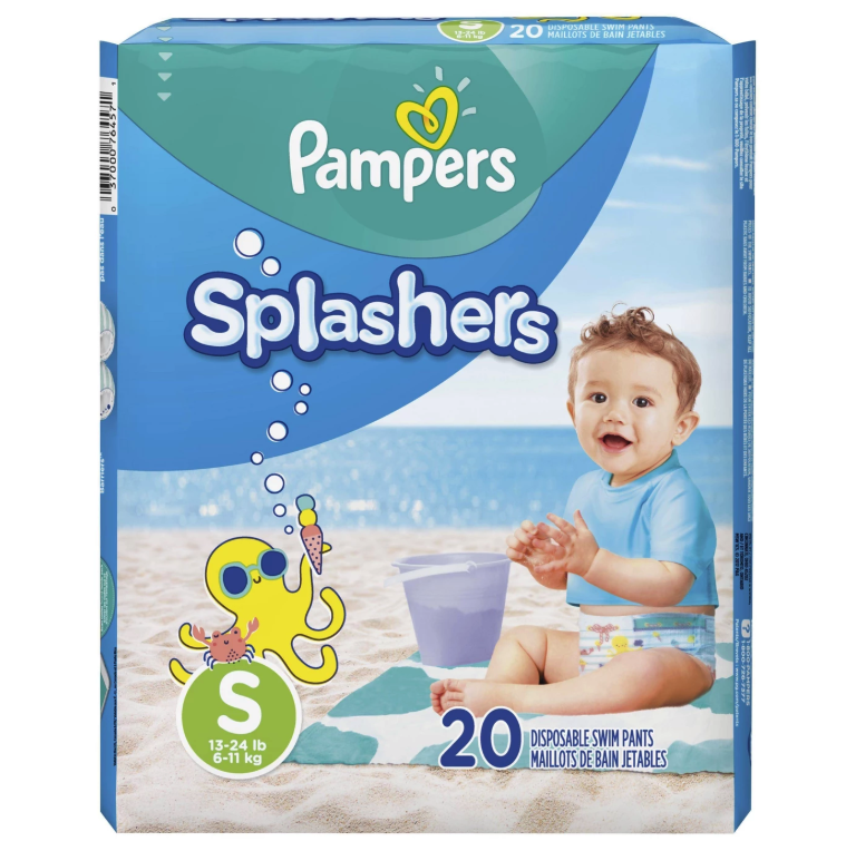 11                                                   of                                                   11                                                                                               Pampers Splashers Disposable Swim Diapers