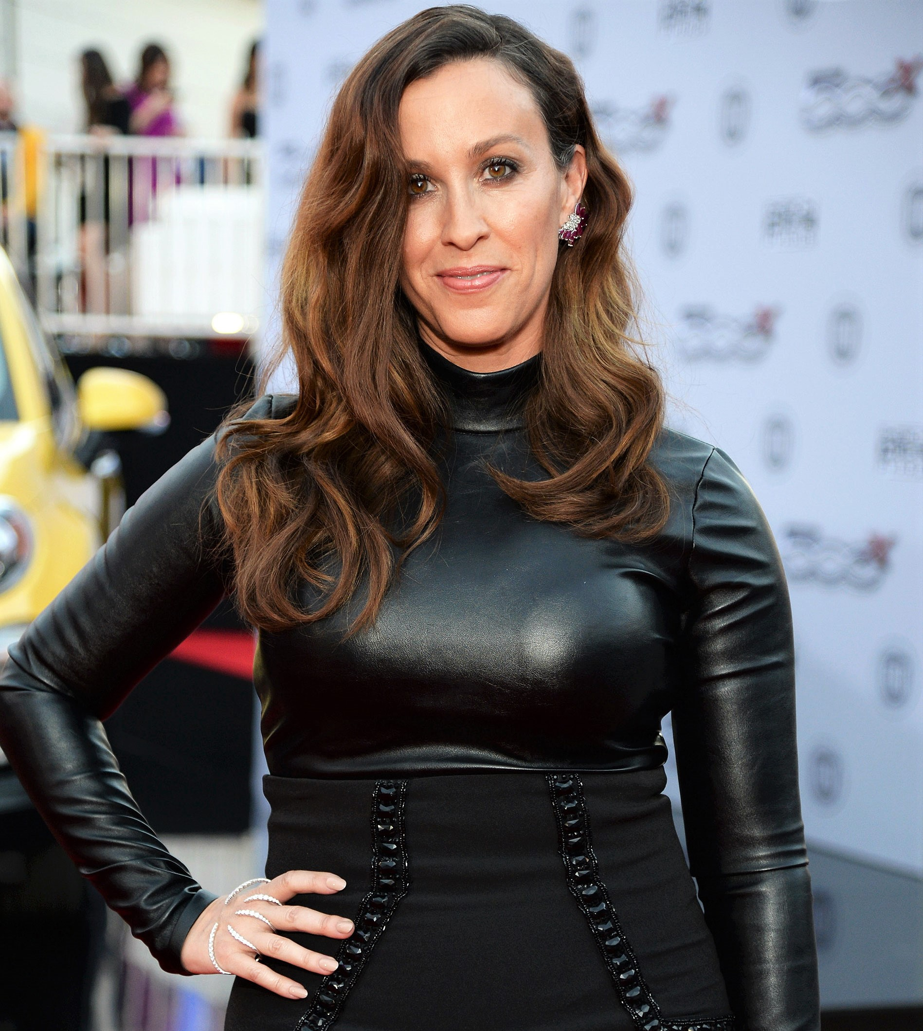 Alanis Morissette Black Dress