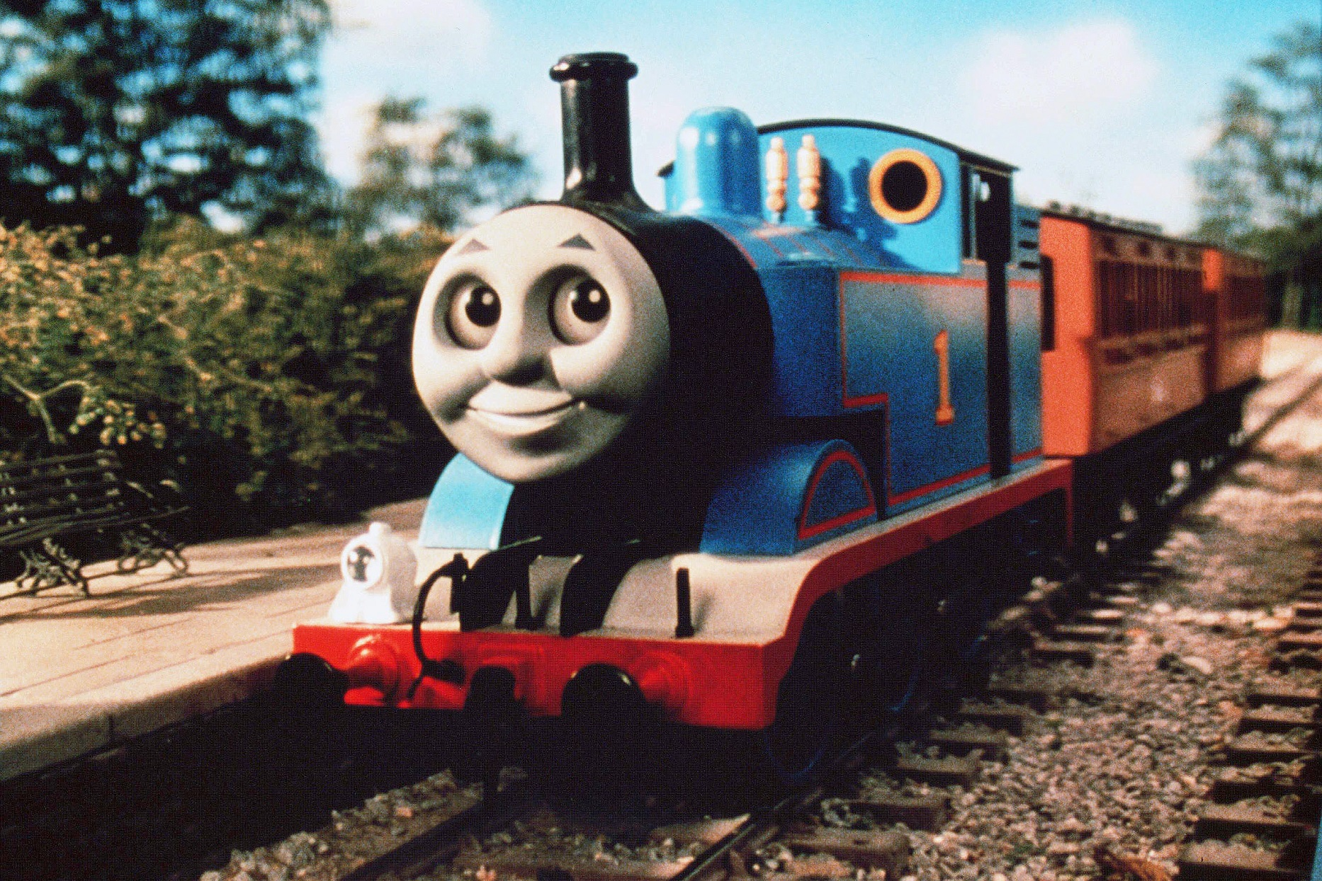 Thomas Tank Engine Train