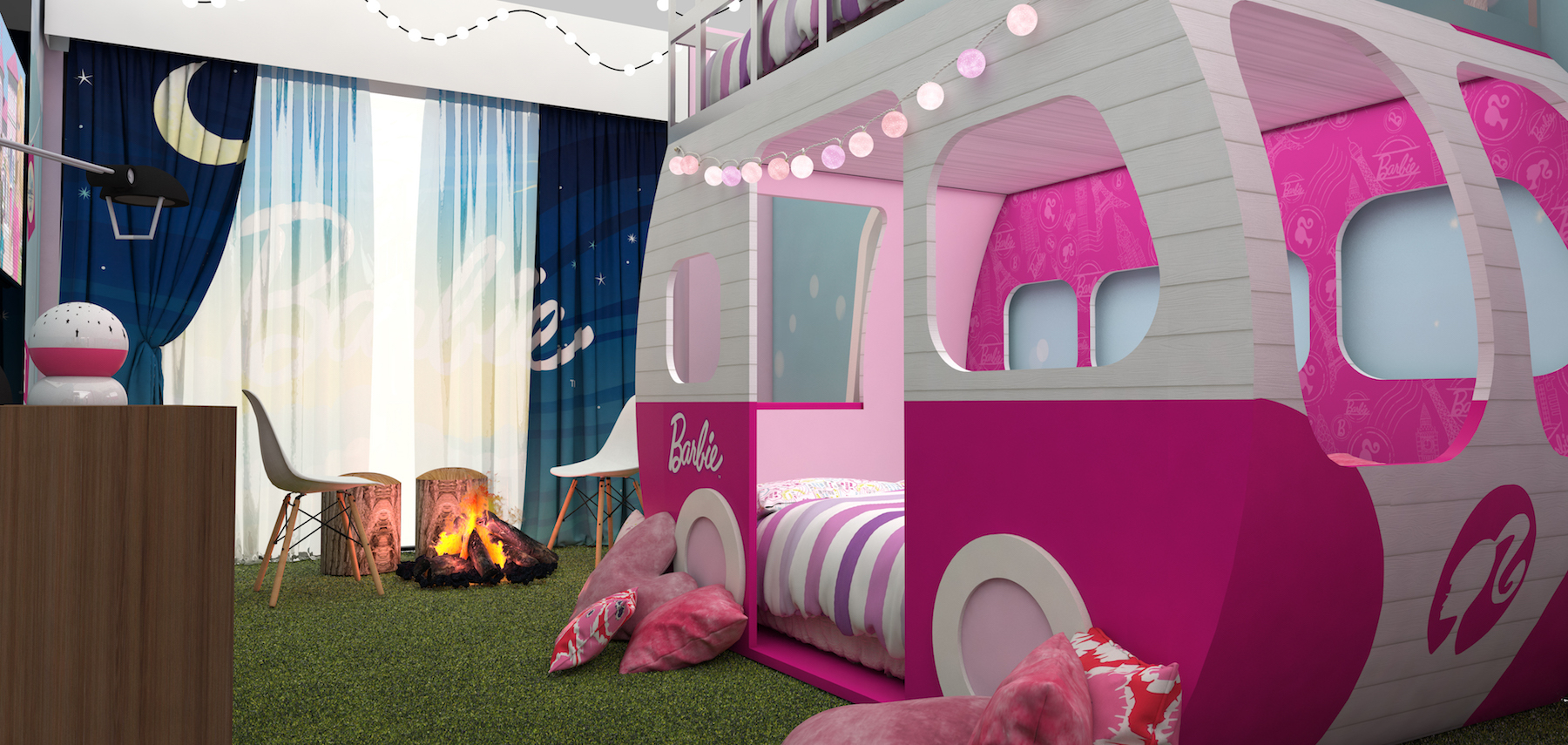 There's a Barbie Hotel Room in Mexico City