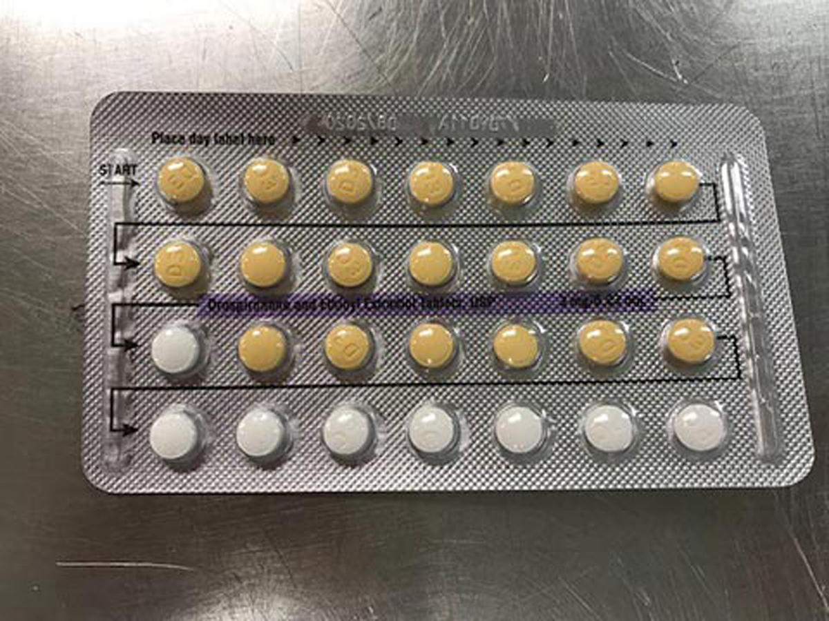 Apotex Corp's Birth Control Pills Full Pack