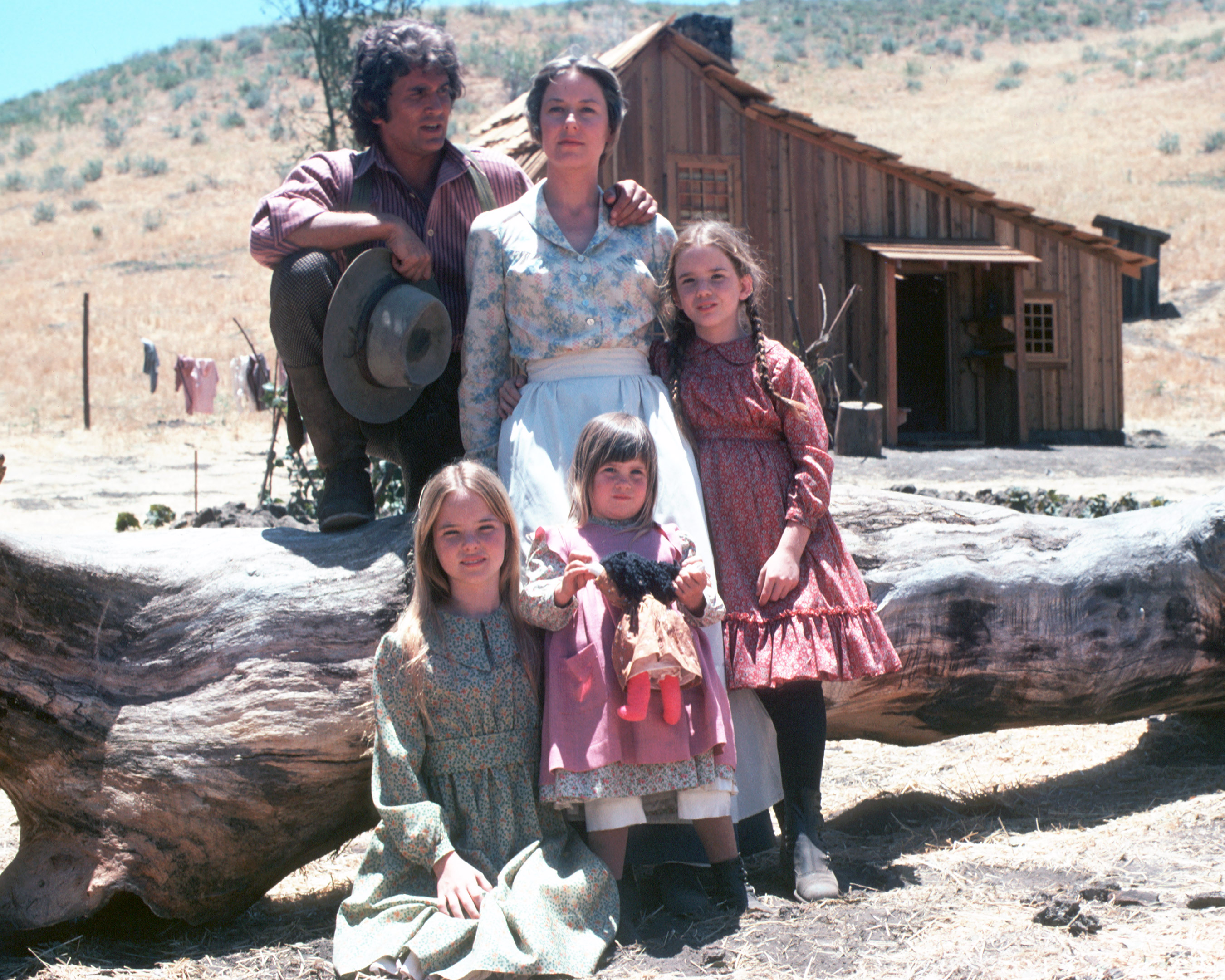 Little House on the Prairie Ingalls Family