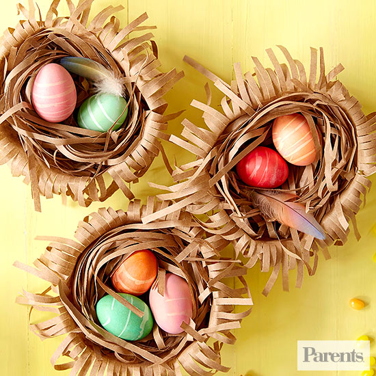 Upcycled Egg Nests