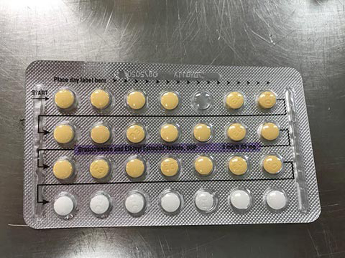 Apotex Corp's Birth Control Pills Tablet Missing Placebo