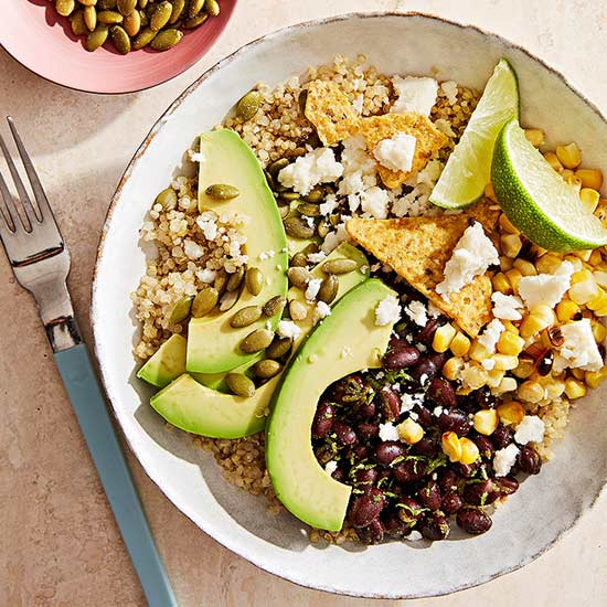 Build-Your-Own Mexican-Inspired Grain Bowl