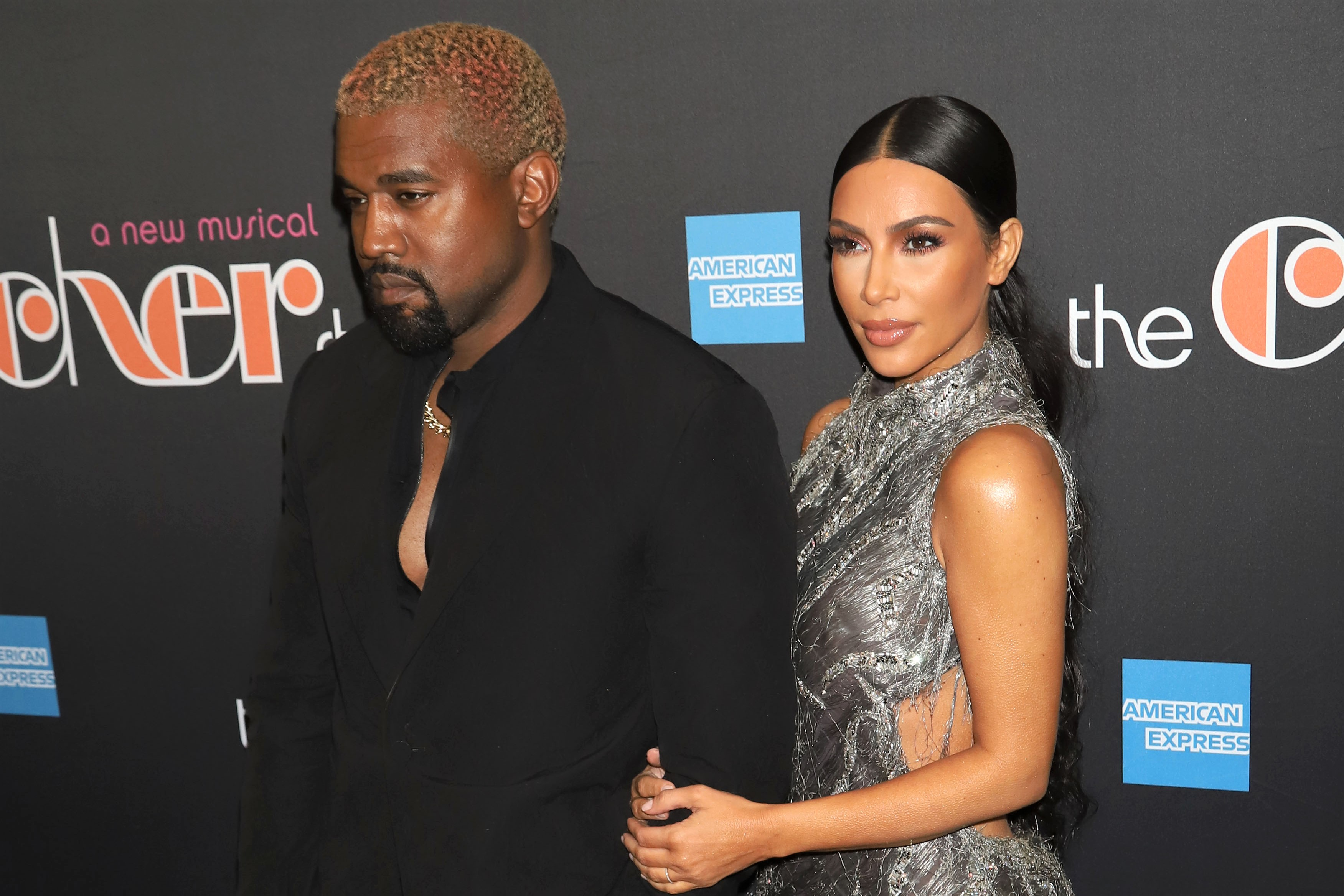 Kanye West and Kim Kardashian West 2018