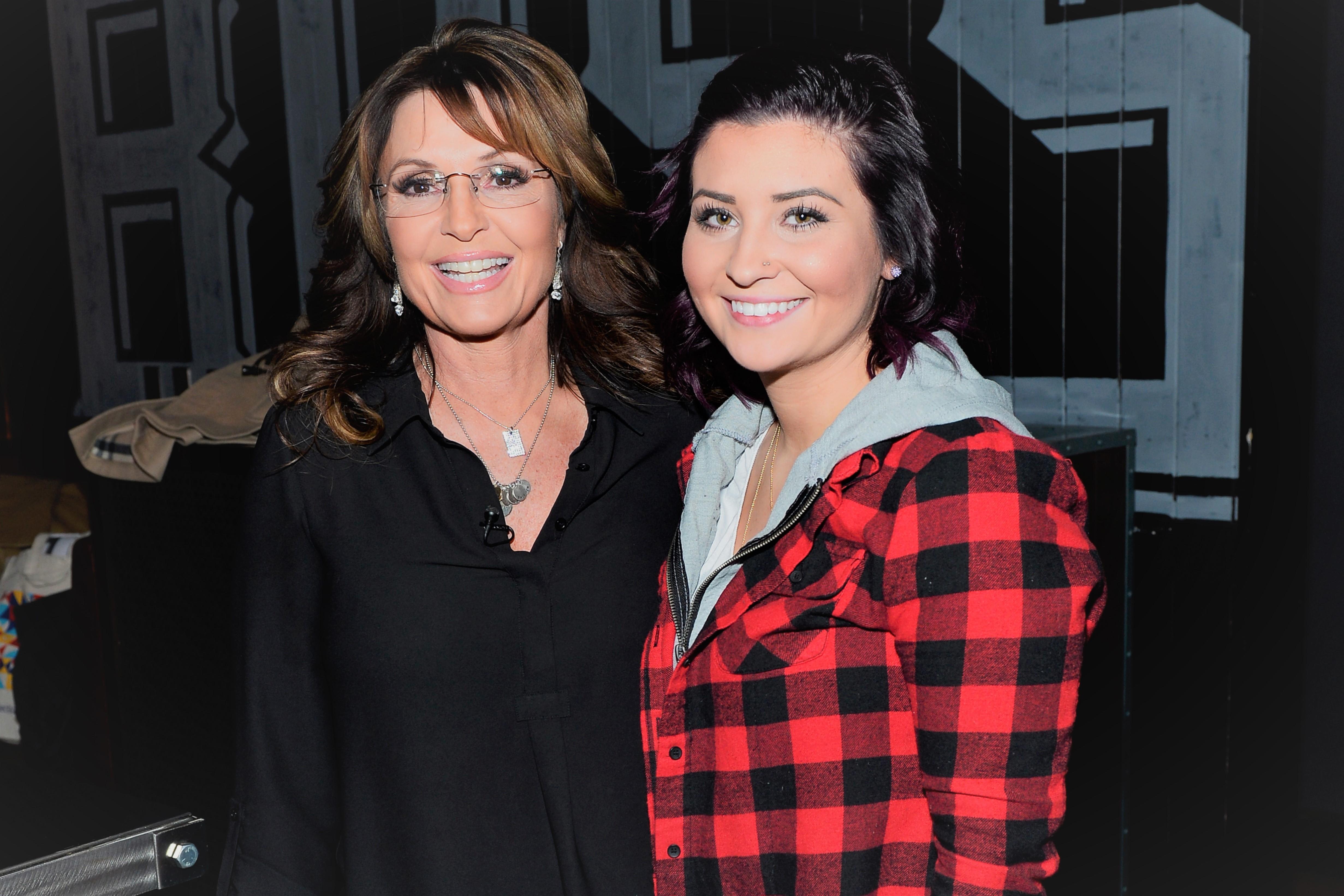 Sarah Palin and Daughter Willow Palin