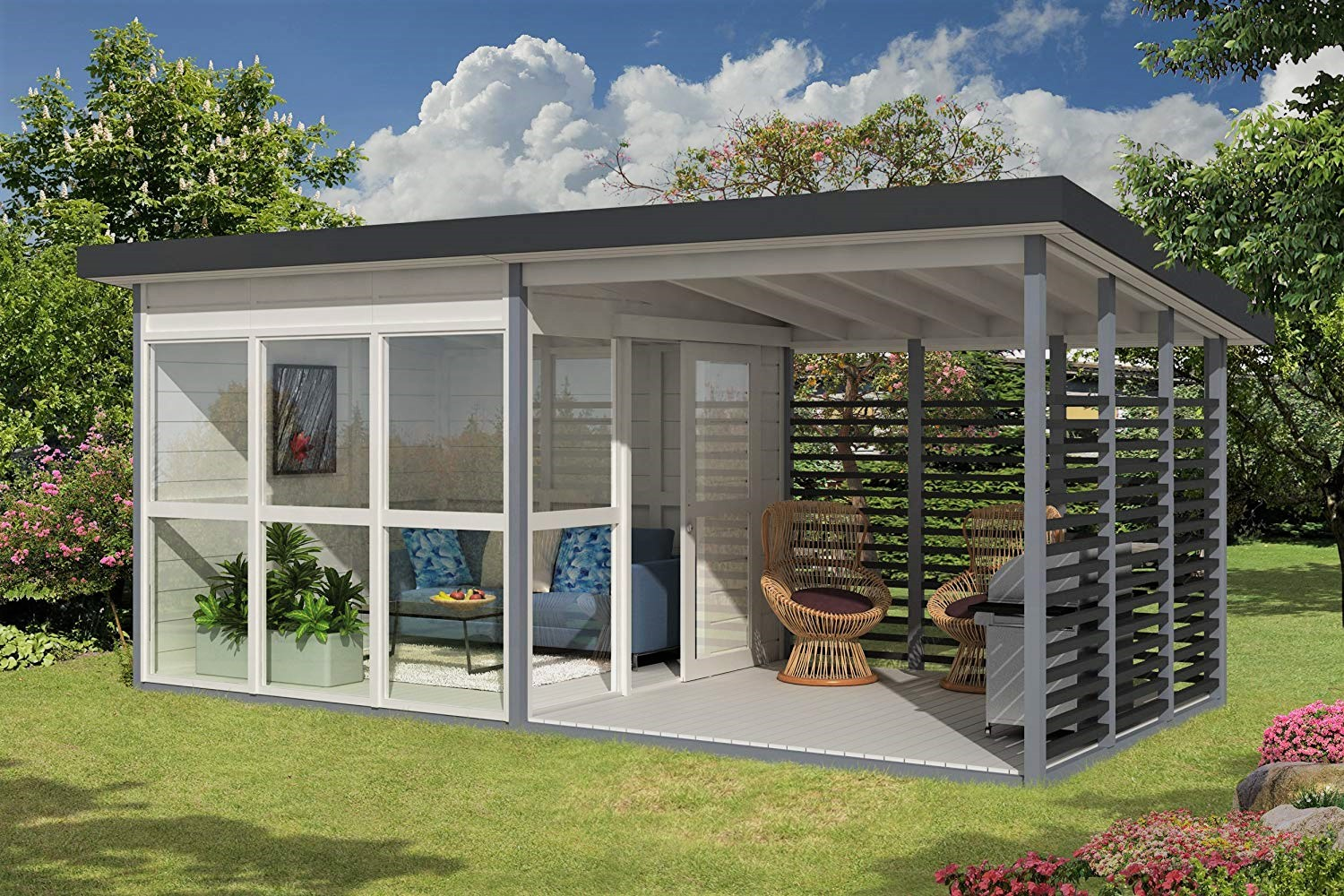 Amazon DIY Backyard Guest House