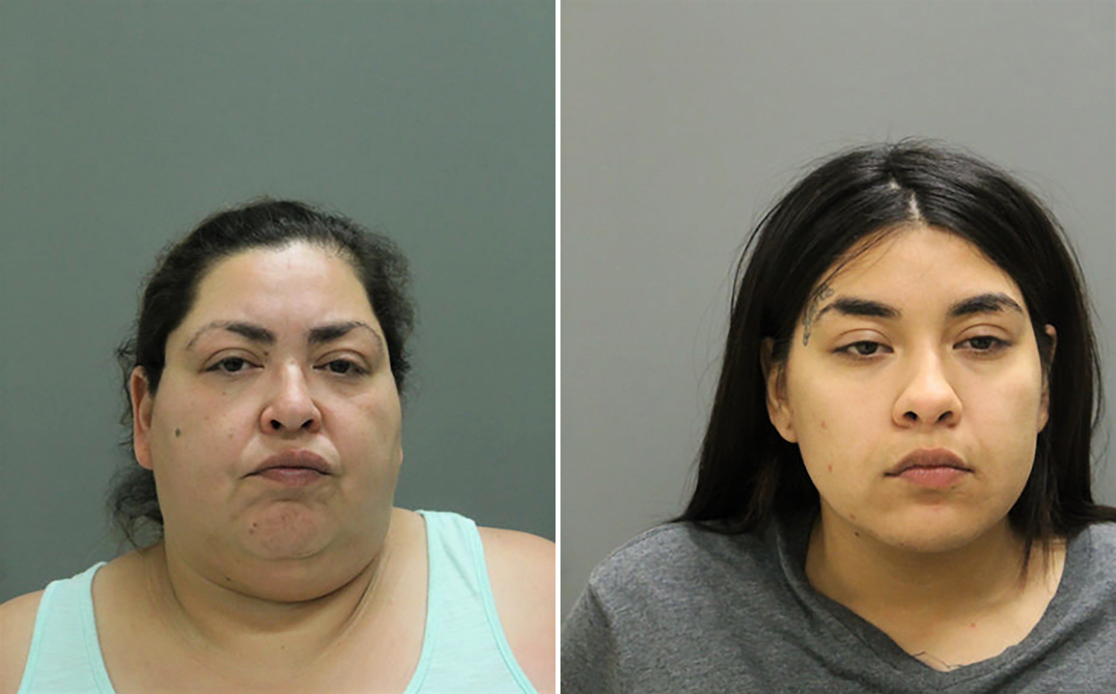Clarisa Figueroa and Desiree Figueroa Mugshot