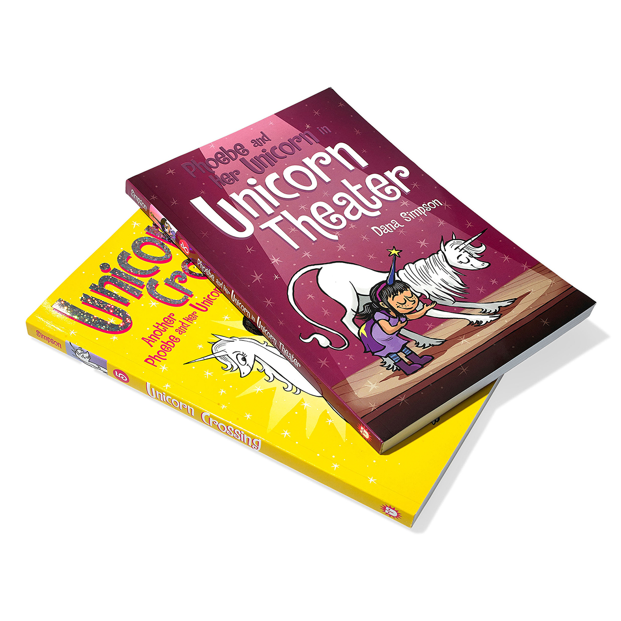 two unicorn theatre fantasy books for kids