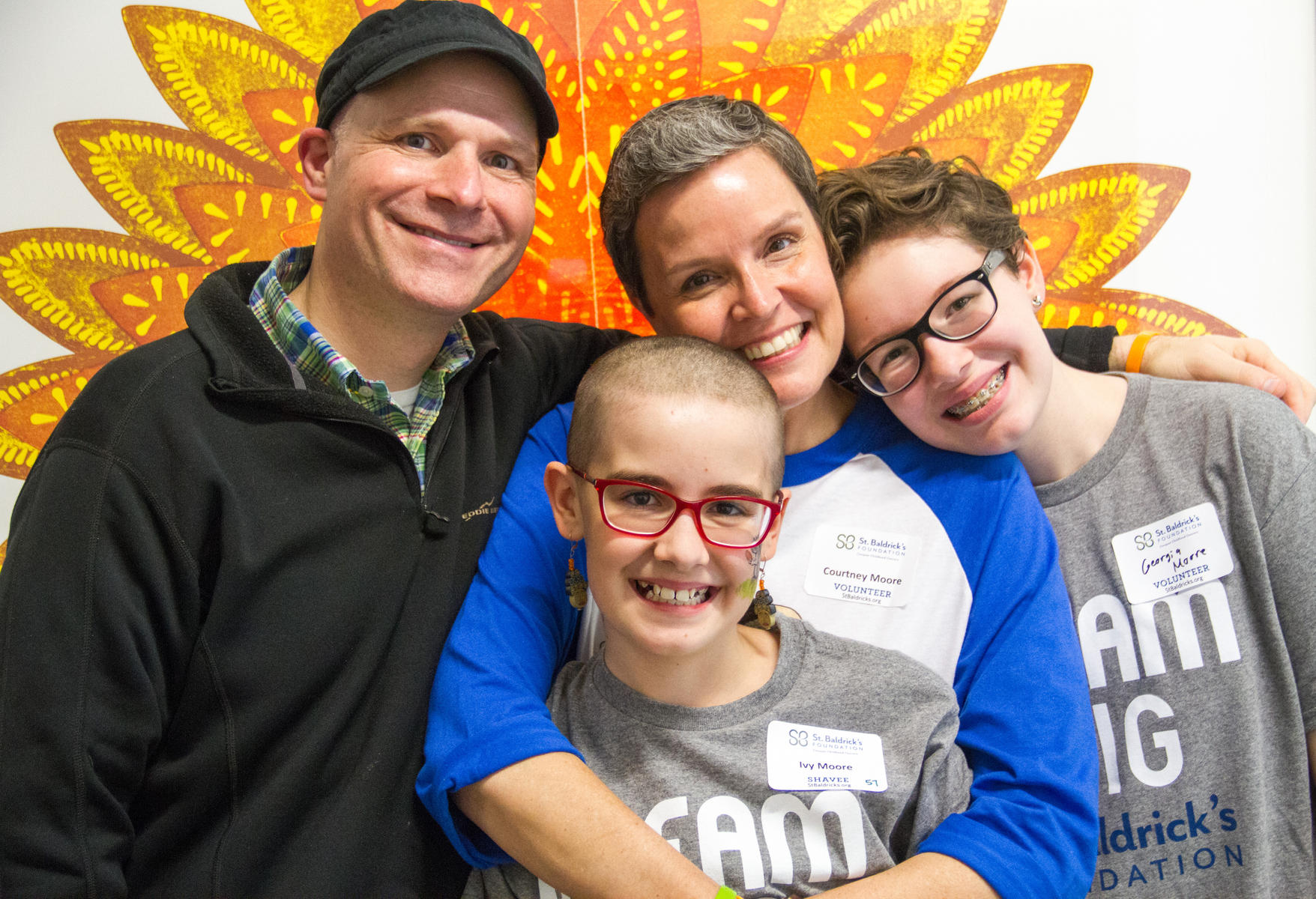 The Moore Family: Georgia and the Peachy Keens Hero Fund at St. Baldrick's Foundation