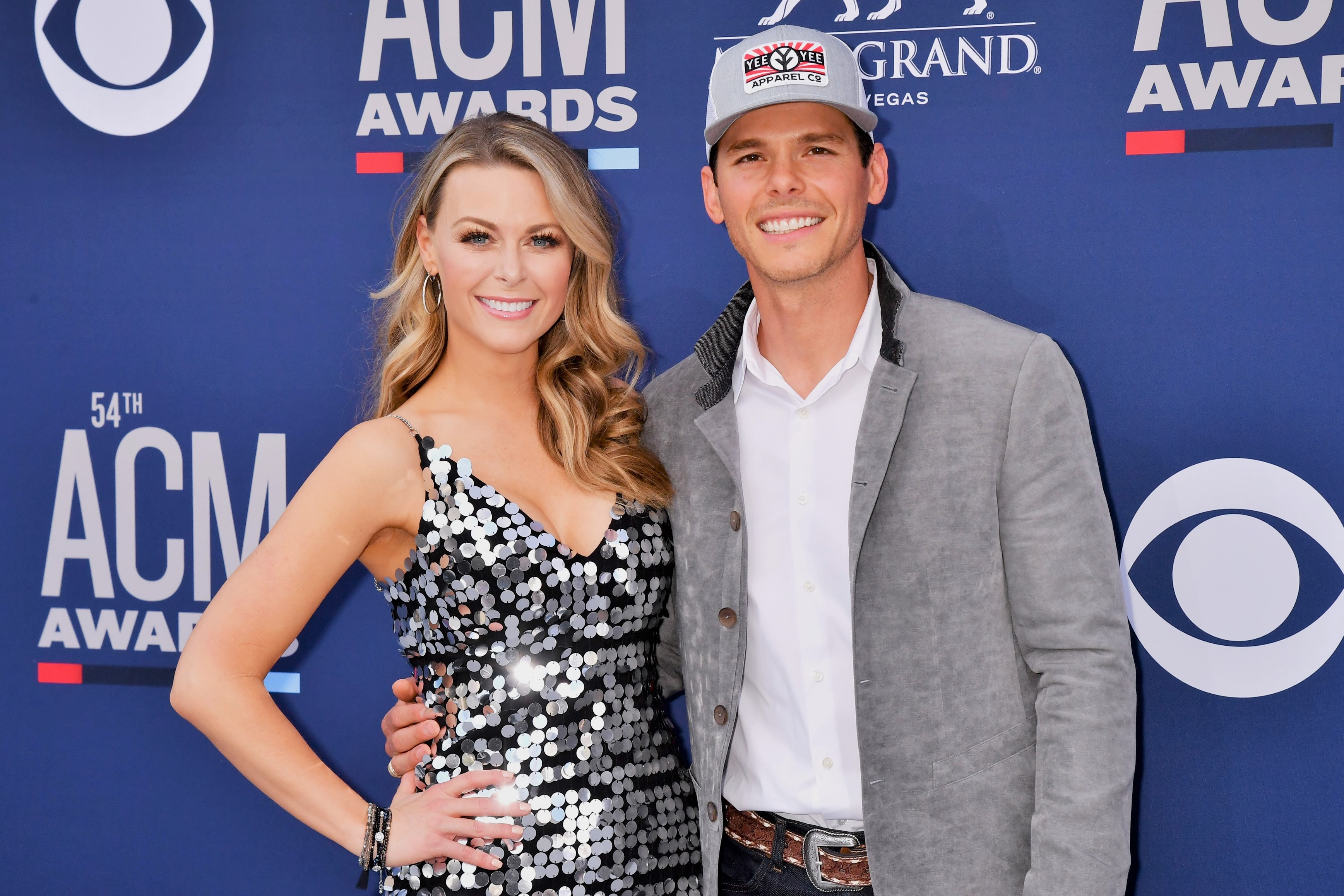Amber Bartlett and Granger Smith Academy Of Country Music Award
