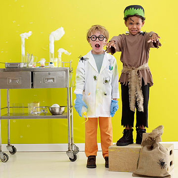 Frankenstein and  Mad Scientist Costume