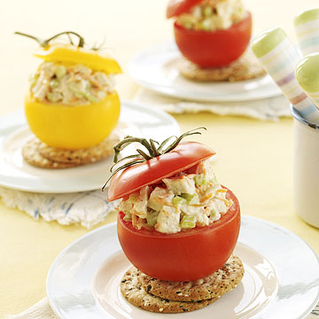 Chicken-salad cups