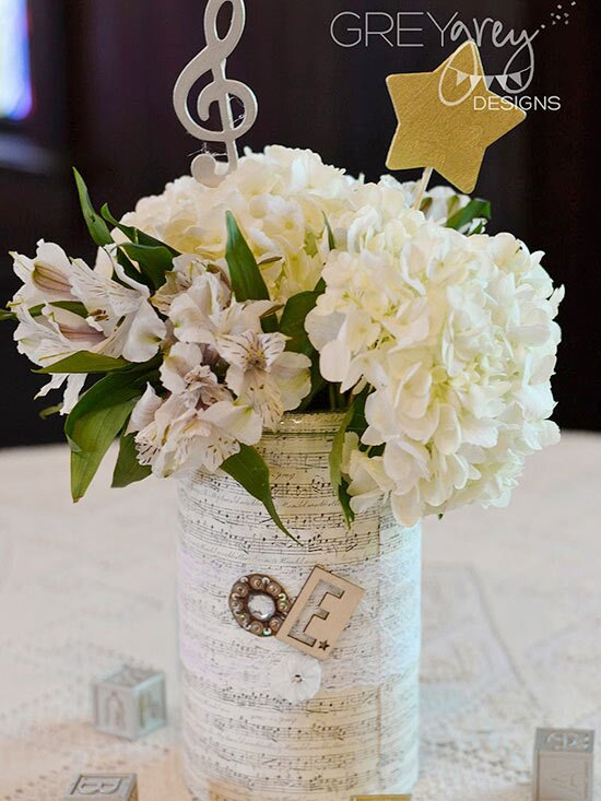 Beautiful Baby Shower Centerpieces Parents