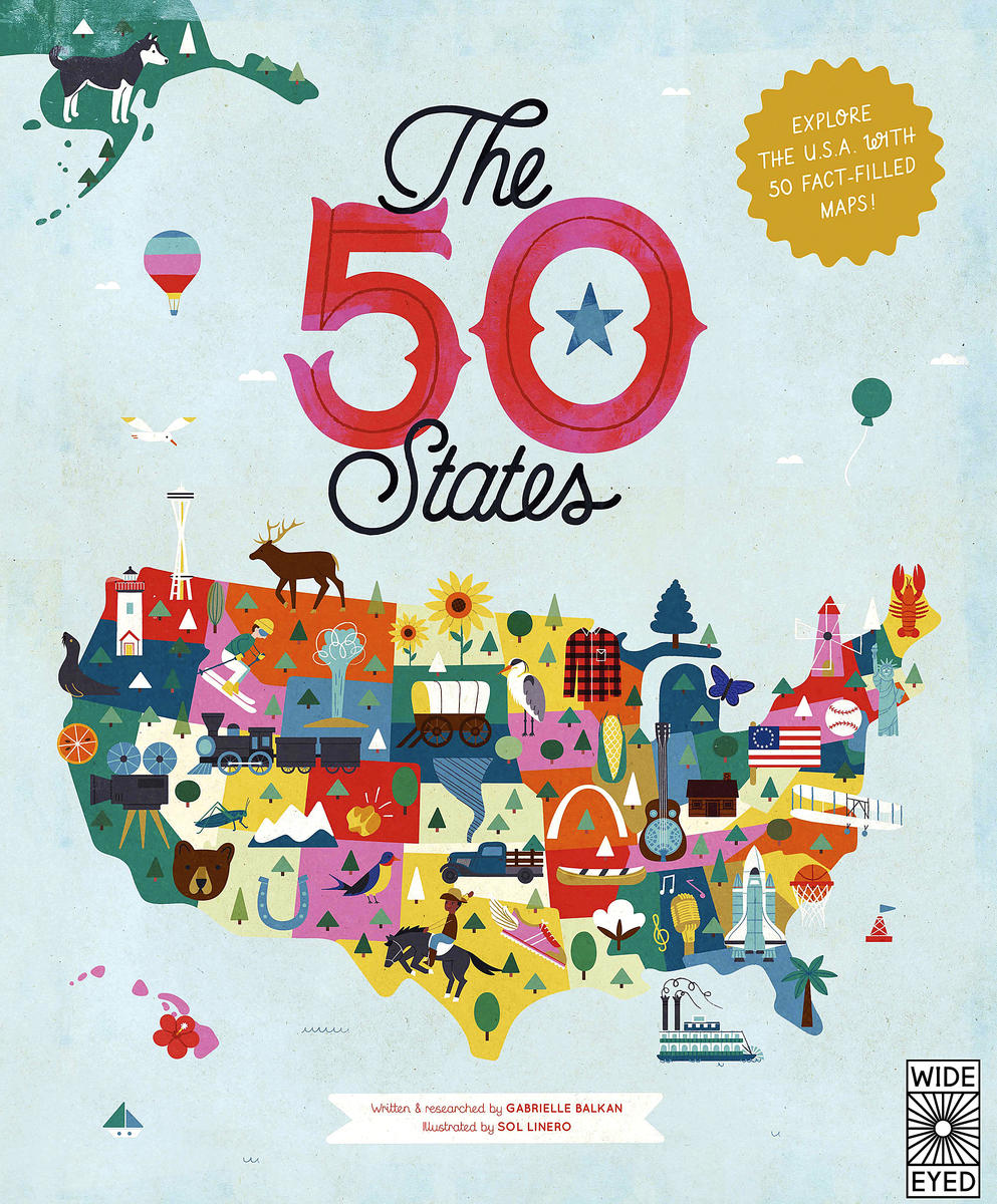 The 50 States By Gabrielle Balkan Book Cover