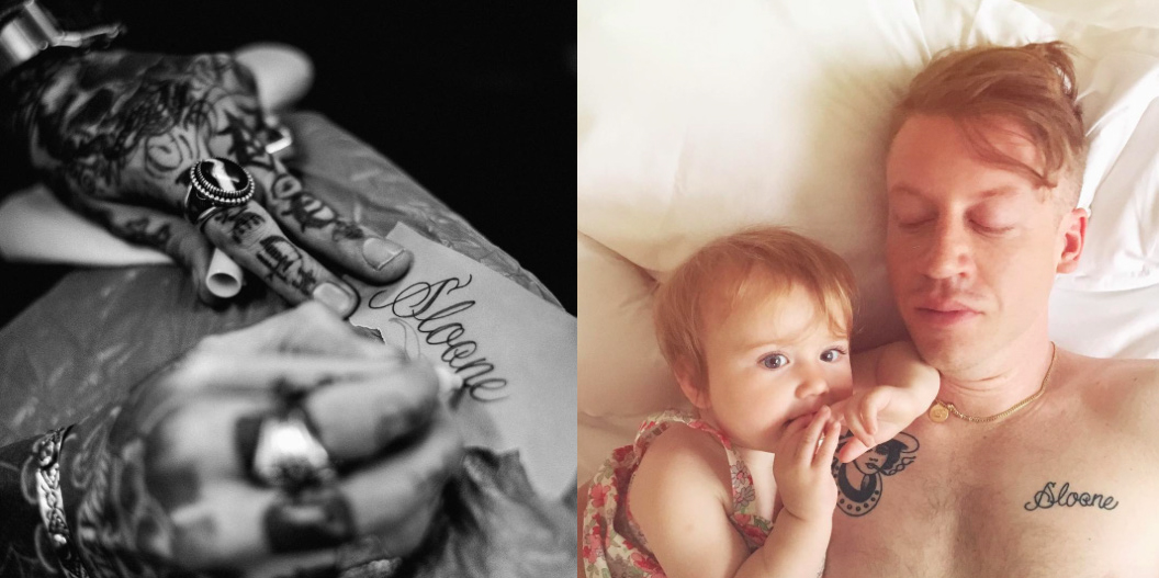 macklemore daughter name tattoo
