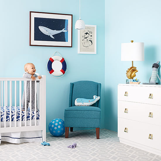 Best Products To Design A Sea-Themed Nursery Room | Parents