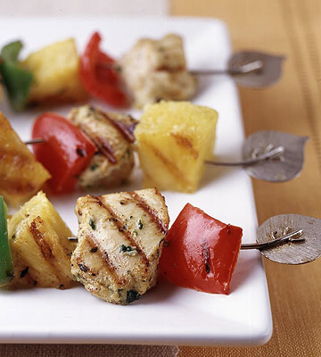 Ginger-Chicken Kabobs