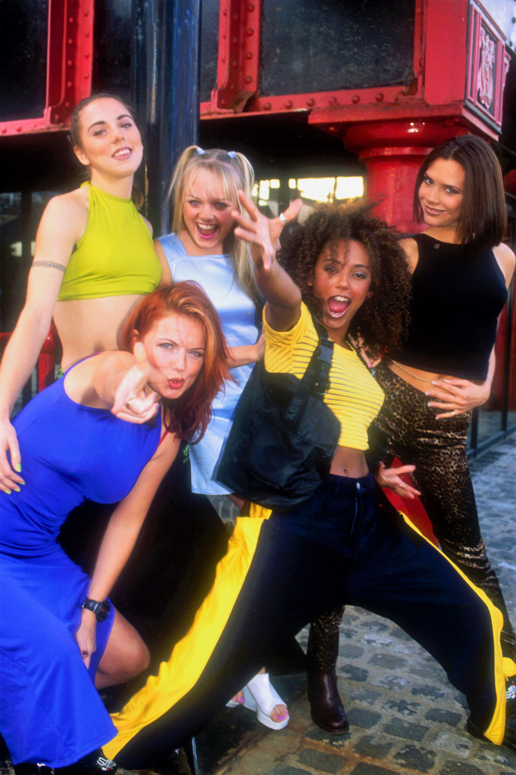 Spice Girls Laughing