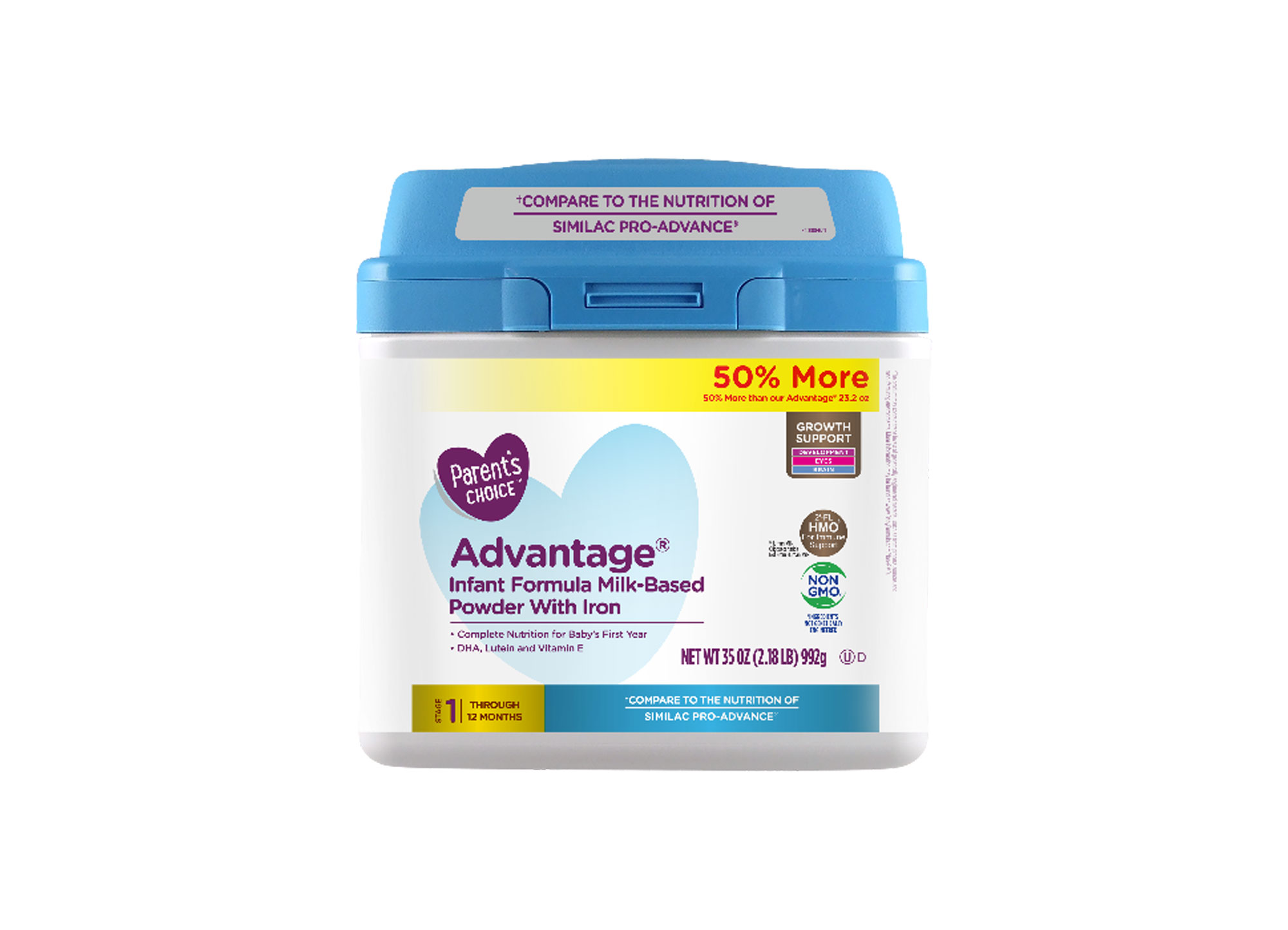 Perrigo Advantage Infant Formula Milk Based Powder With Iron Baby Formula