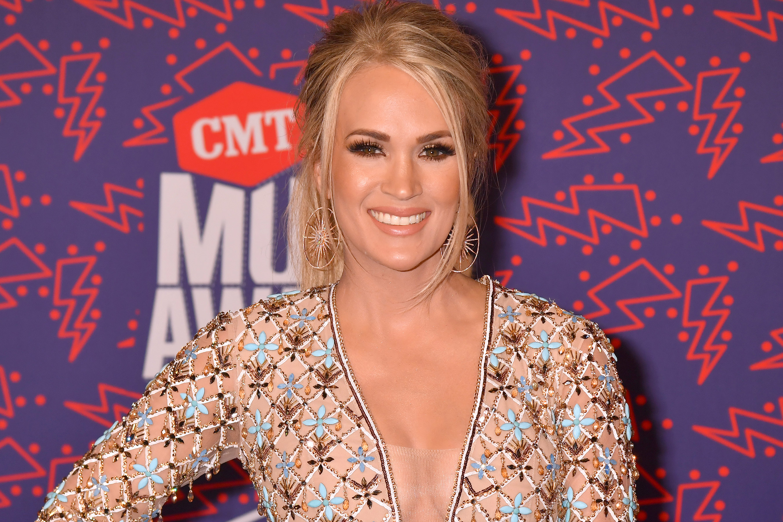 Carrie Underwood At 2019 CMT Music Awards