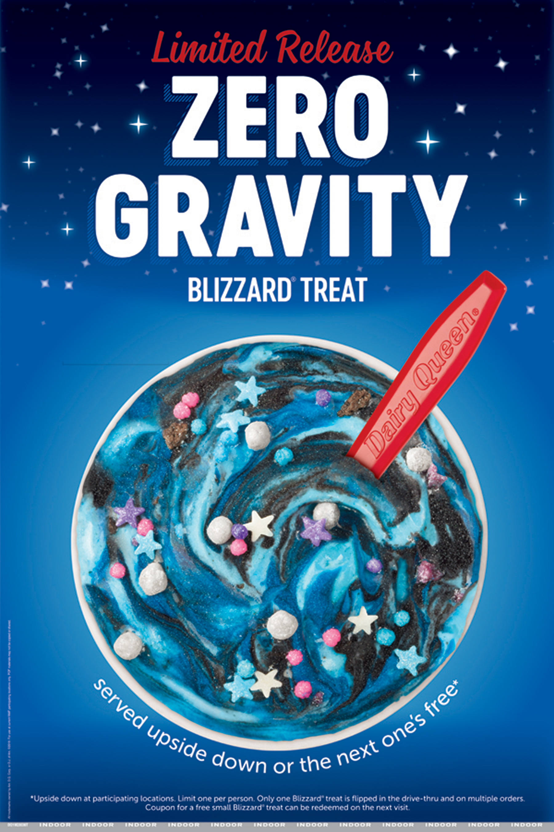 DQ Dairy Queen Blizzard Oreo Gravity 2