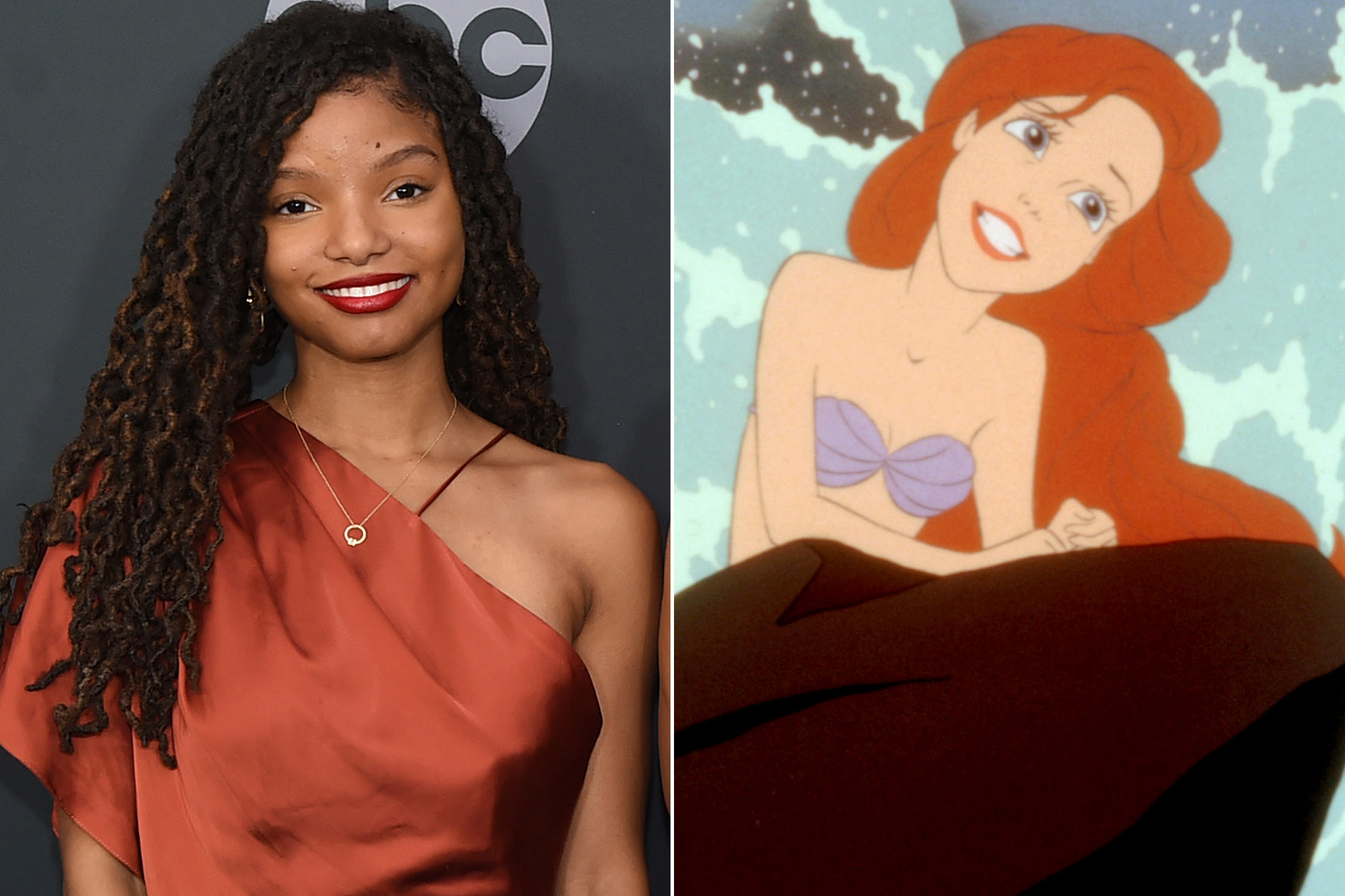 Halle Bailey and The Little Mermaid