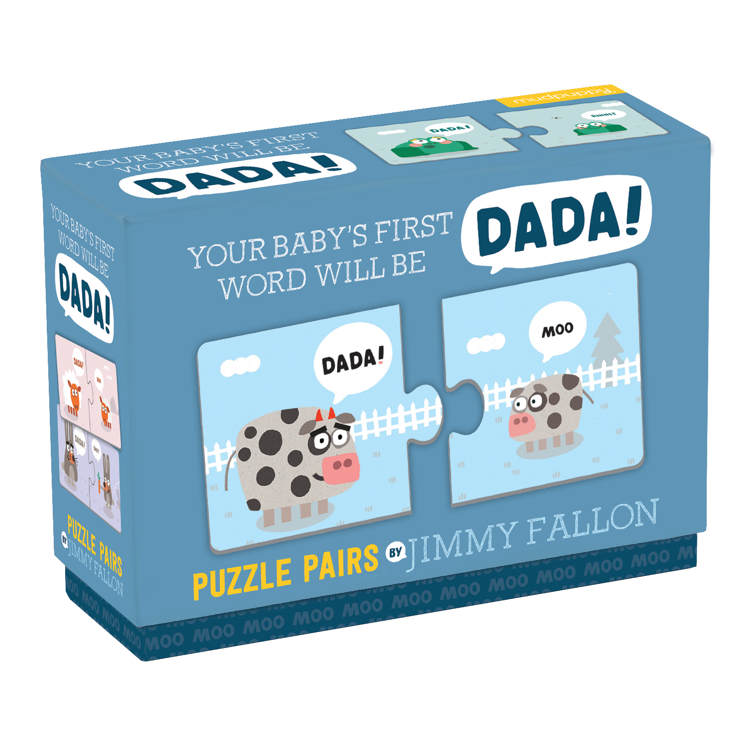 Jimmy Fallon Your Baby's First Word Will Be Dada PUZZLE