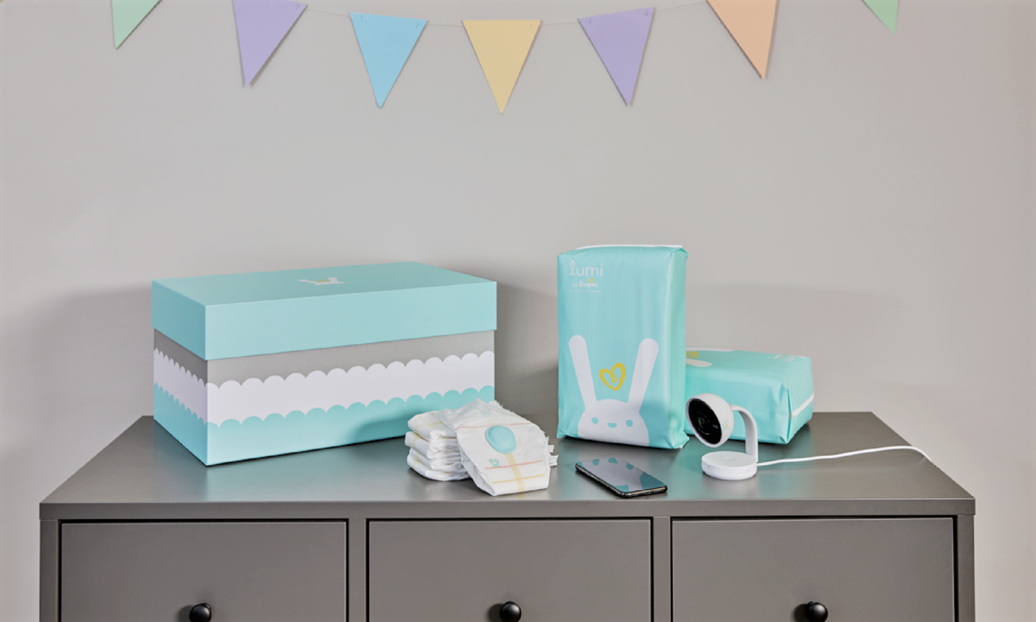 Pampers Lumi All In One Care System