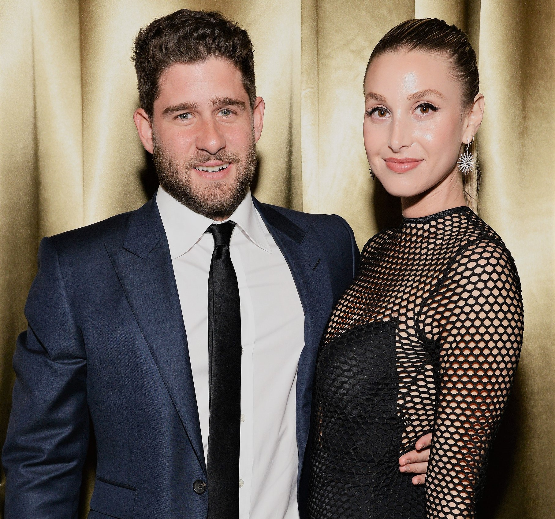 Black Dress Whitney Port and Husband Tim Rosenman