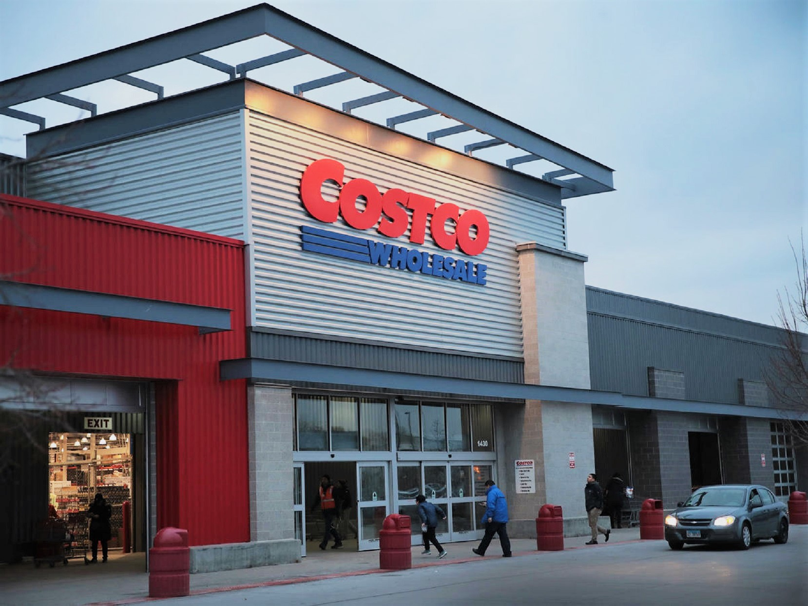 Costco Wholesale Store Front