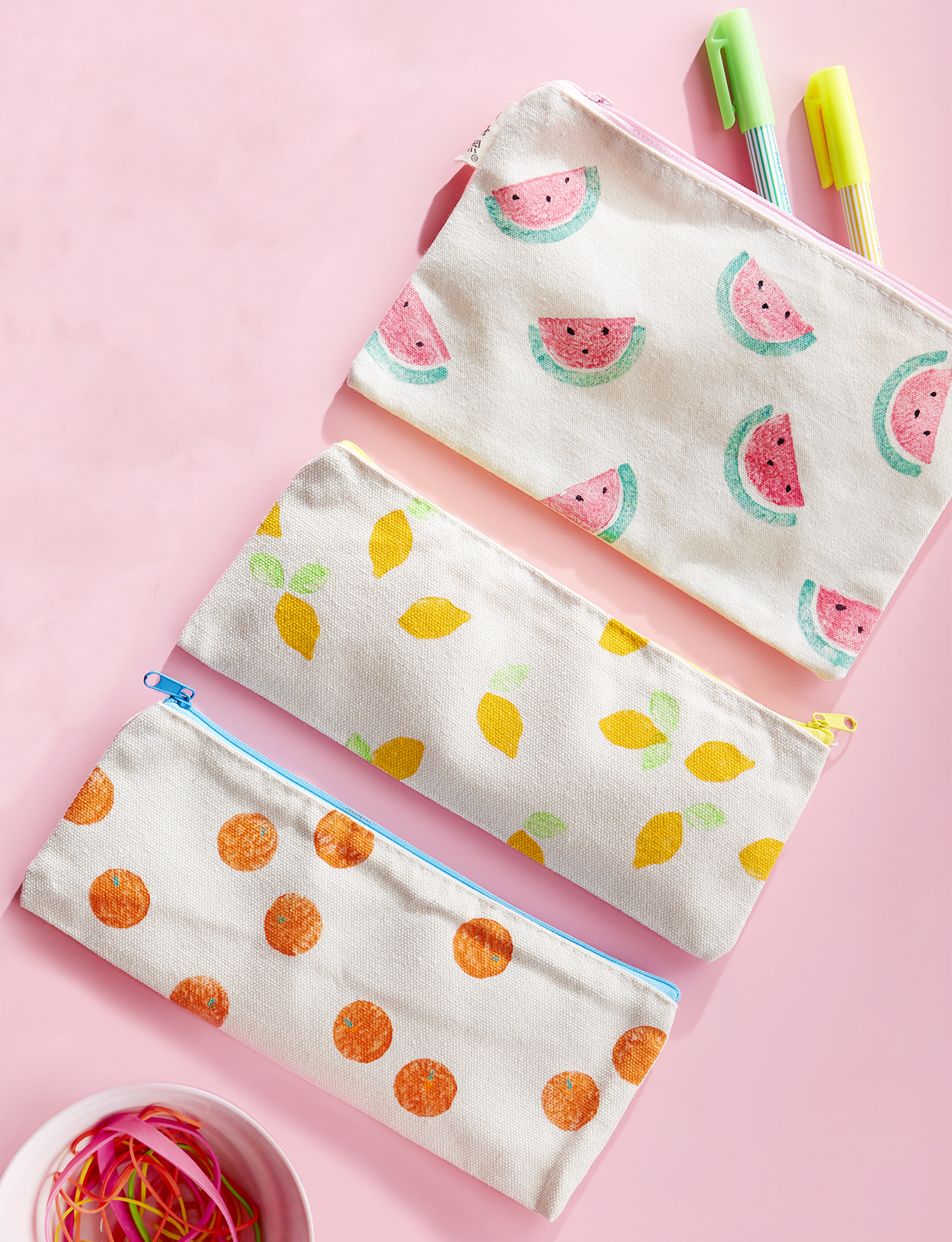 printed pencil case designs