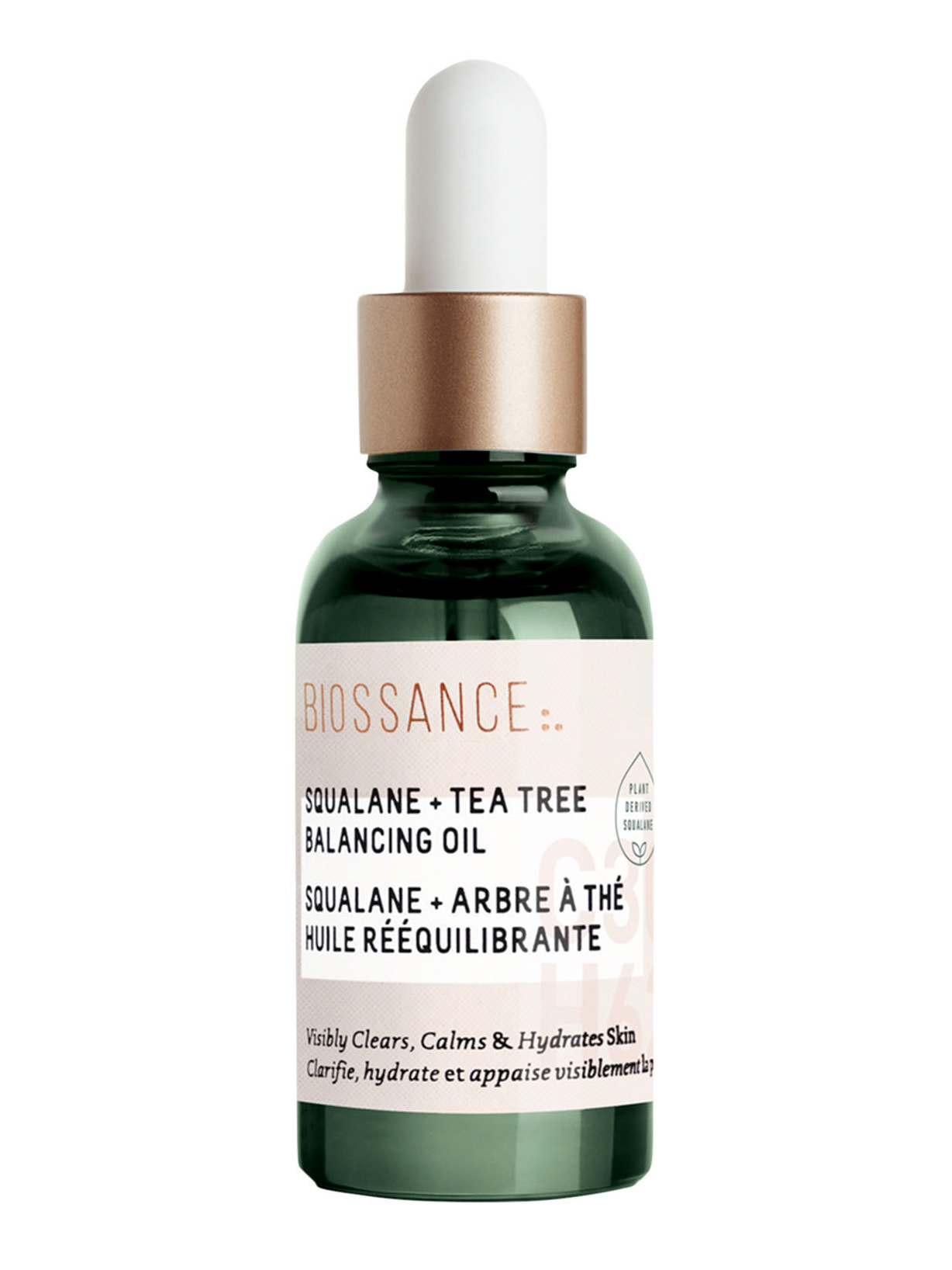 biossance squalane tea tree balancing oil